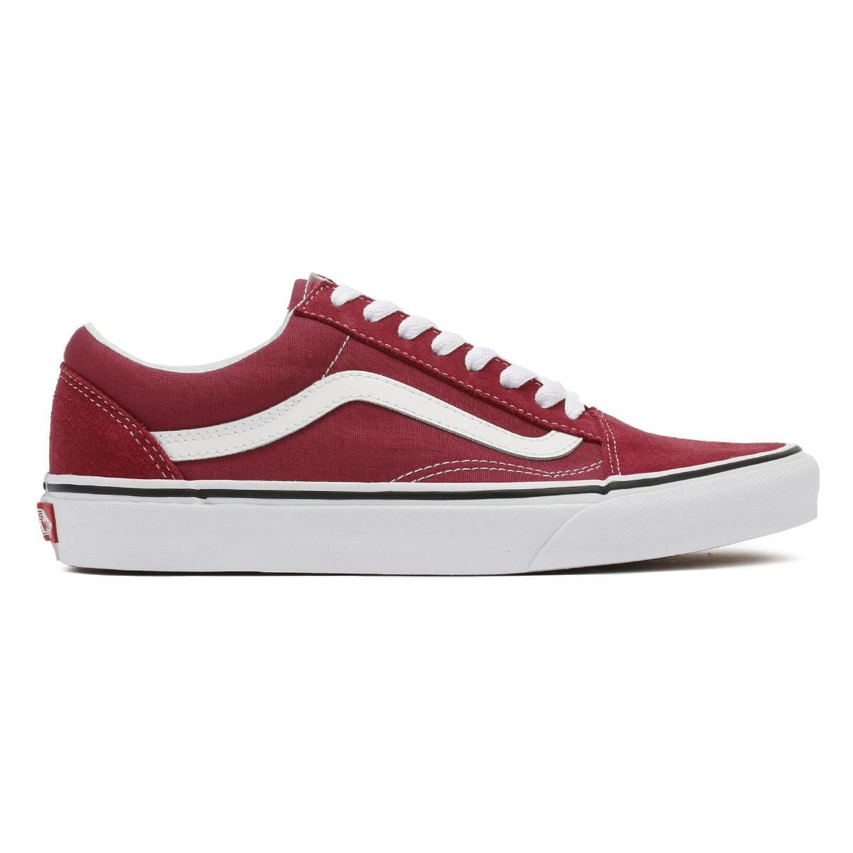 fd793e67caf4 Vans - Dry Rose Red   True White Old Skool Trainers Women s Shoes  (trainers). View fullscreen