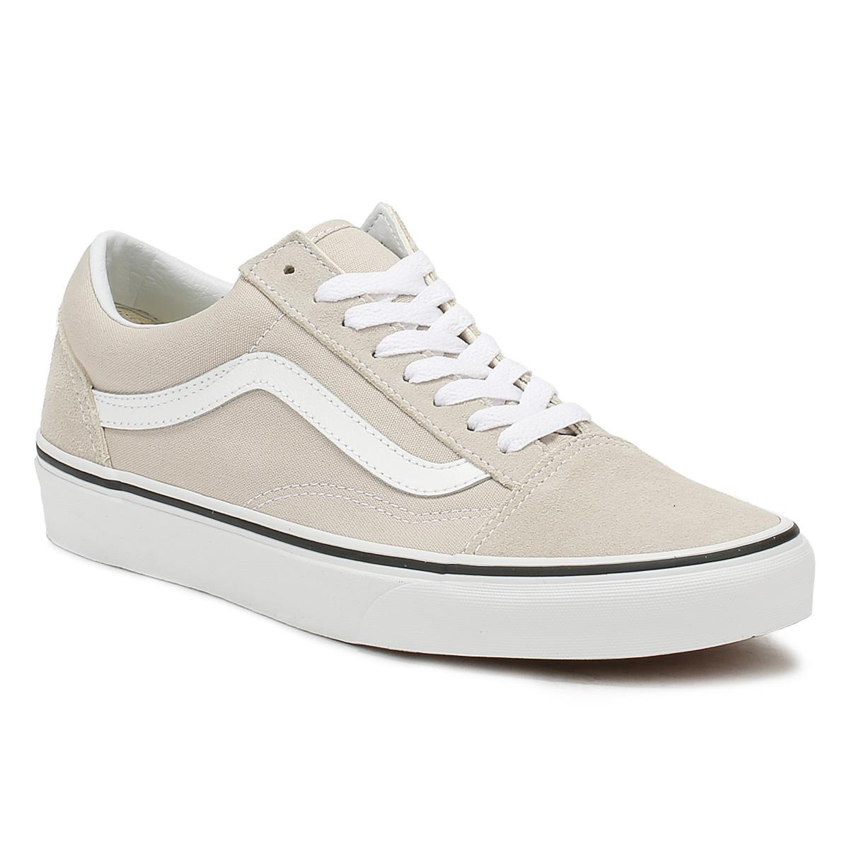 Vans Vans Vans Unisex Plata Lining & True Blanco Old Skool Trainers Lace Up Skate Zapatos ef75ce