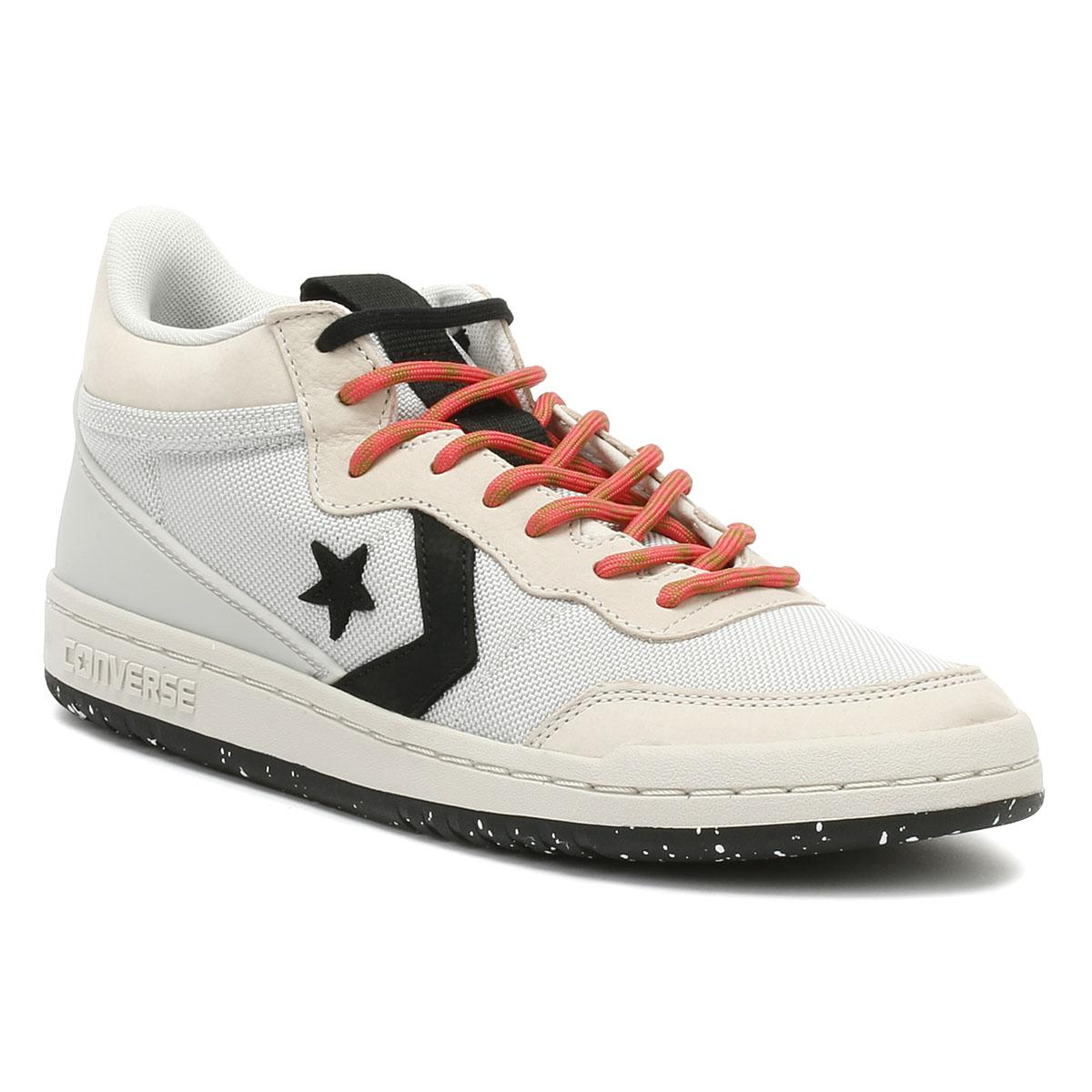 40288eed8bcfeb Converse Fastbreak Mens Pale Putty Mid Trainers in Gray for Men - Lyst