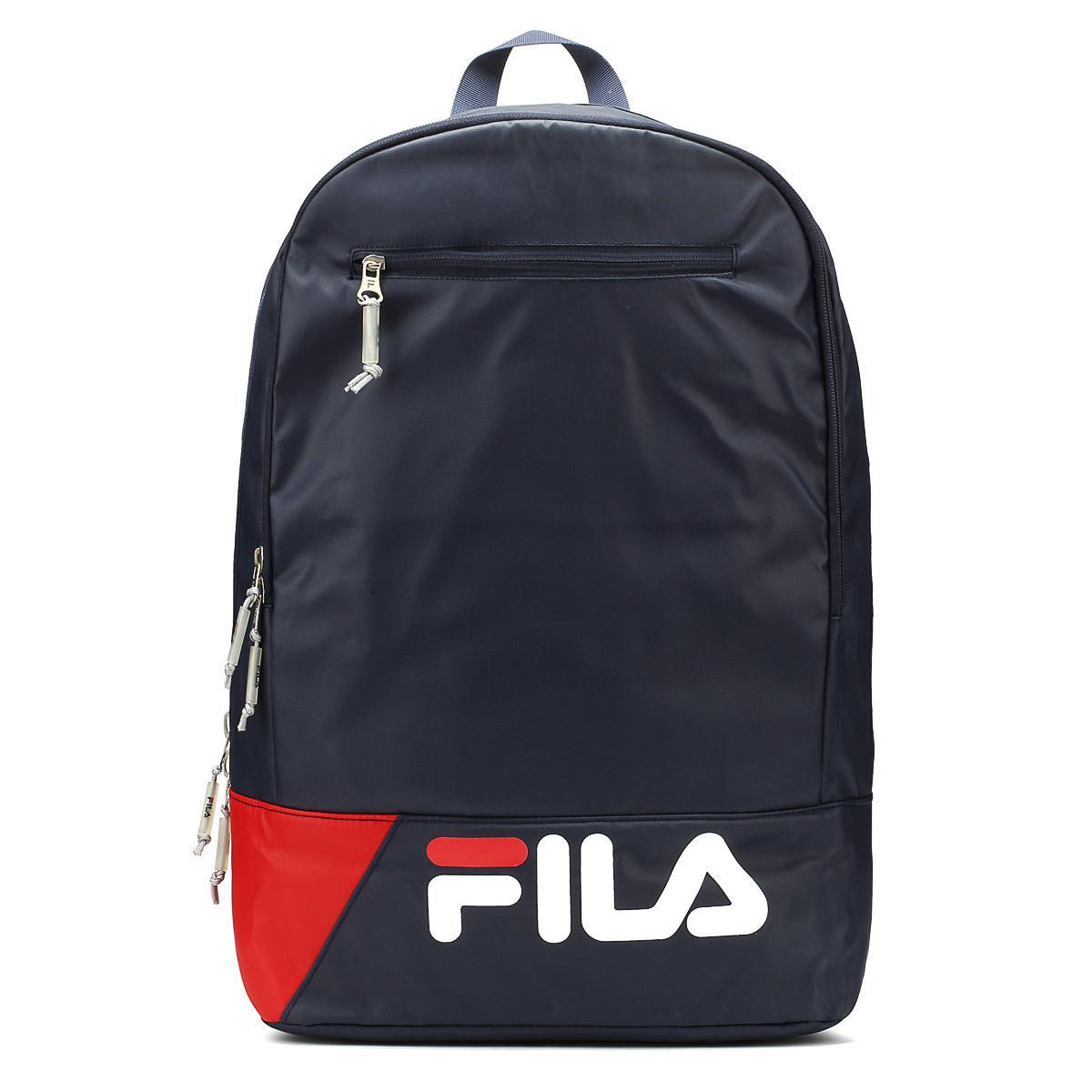 2dda390973 Fila - Peacoat Blue   Chinese Red   White Barbe Backpack for Men - Lyst