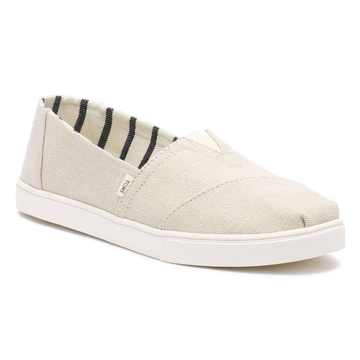 b04c87bc Lyst - TOMS Womens Natural Heritage Canvas Classic Espadrilles in ...