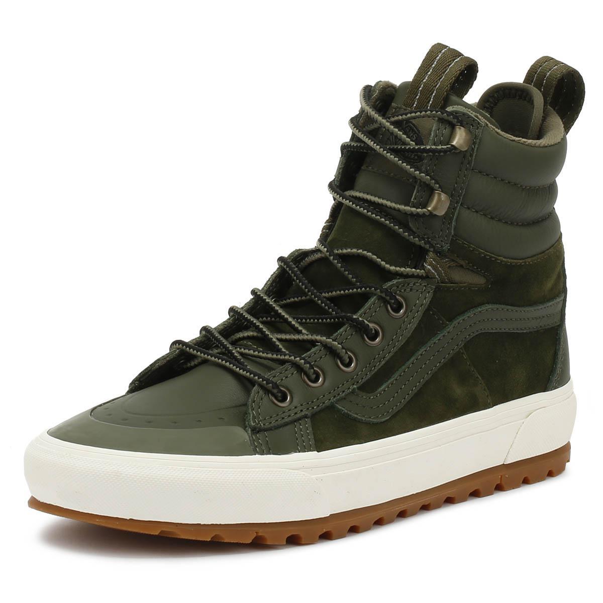 399430a59cb28c Lyst - Vans Sk8-hi Mte Dx Grape Leaf Green Boots in Green for Men