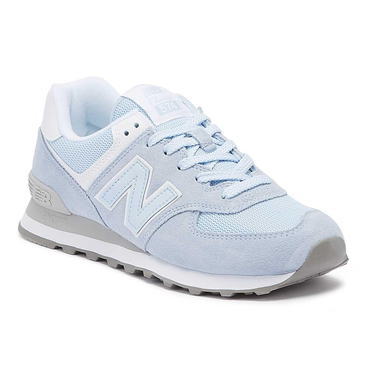 cb2b761fc91 Lyst - New Balance Womens 574 Blue Classic Trainers in Blue