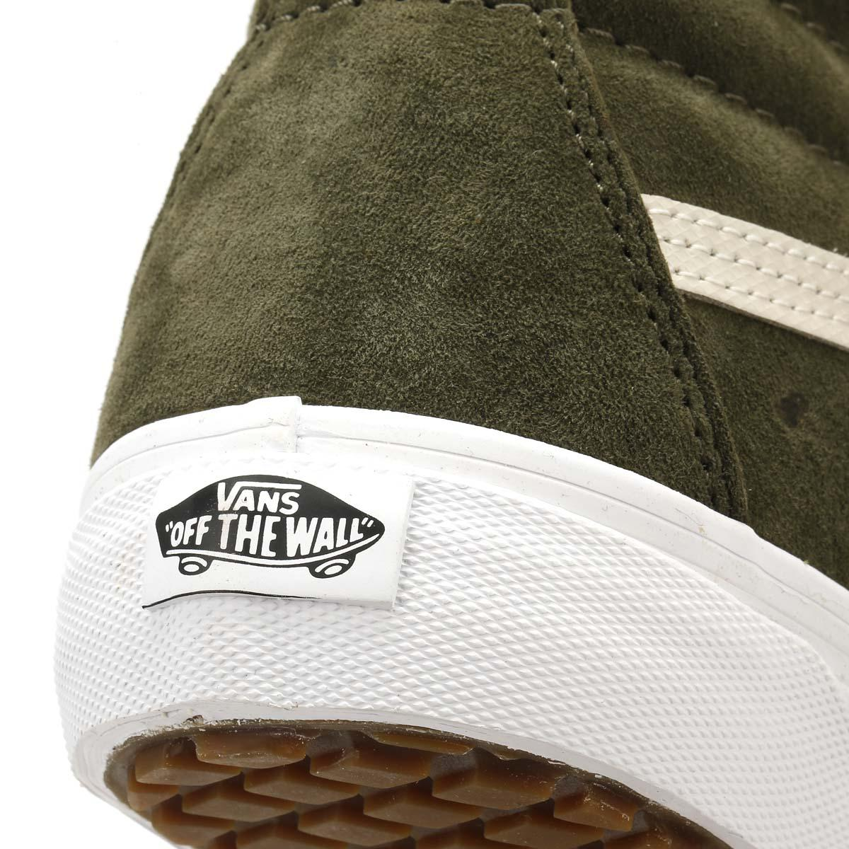 Lyst - Vans Mens Winter Moss   Military Green Sk8-hi Mte Trainers in ... 268ace600