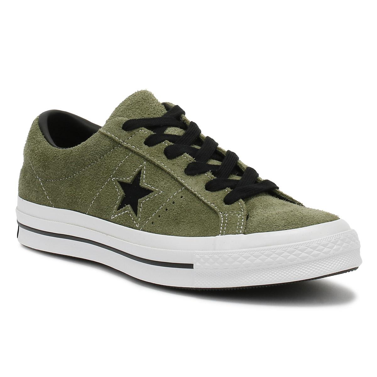 4767d254d79 Converse One Star Ox Mens Field Surplus Khaki Trainers for Men - Lyst