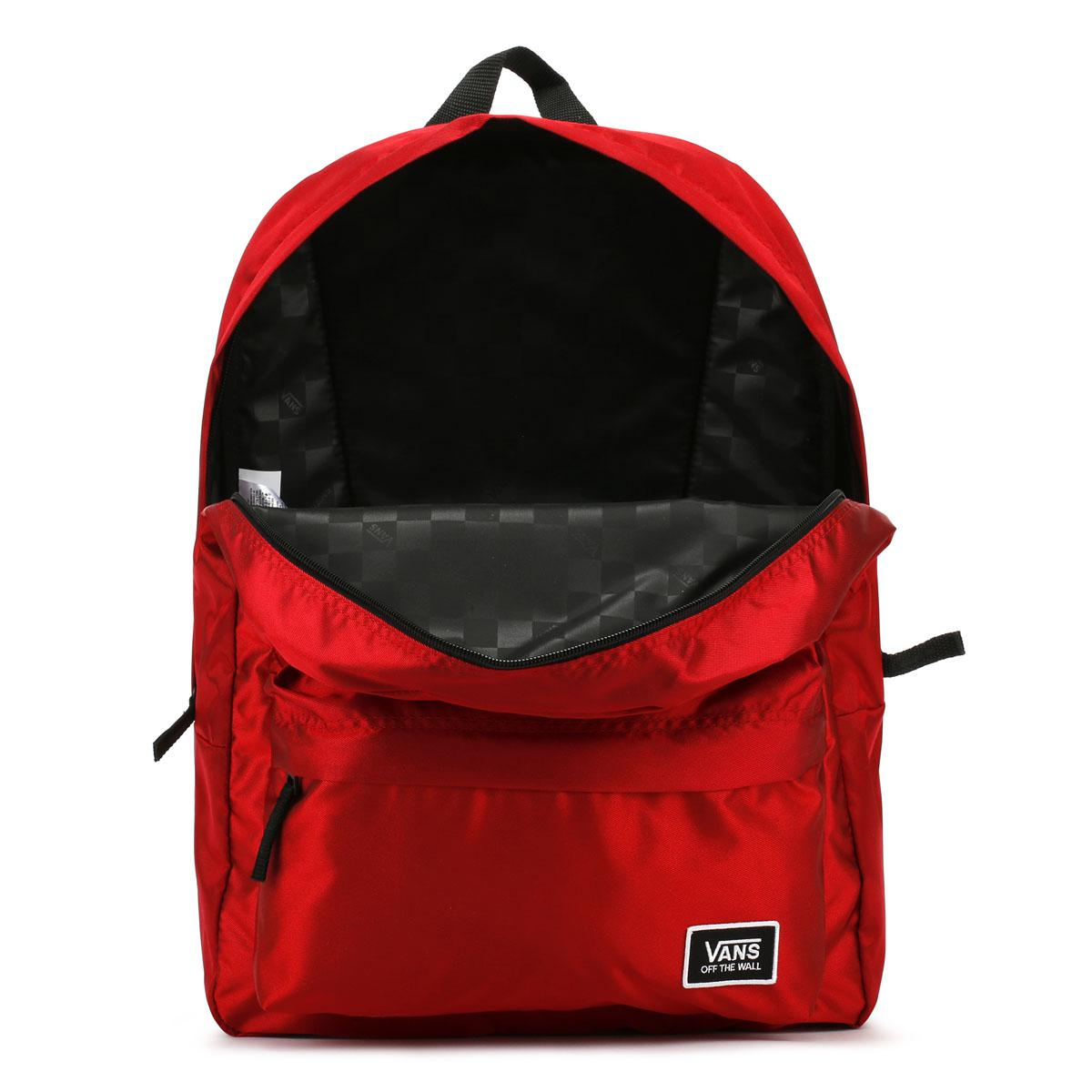 d0bae1d0281e0 Lyst - Vans Deana Iii Racing Red Backpack in Red