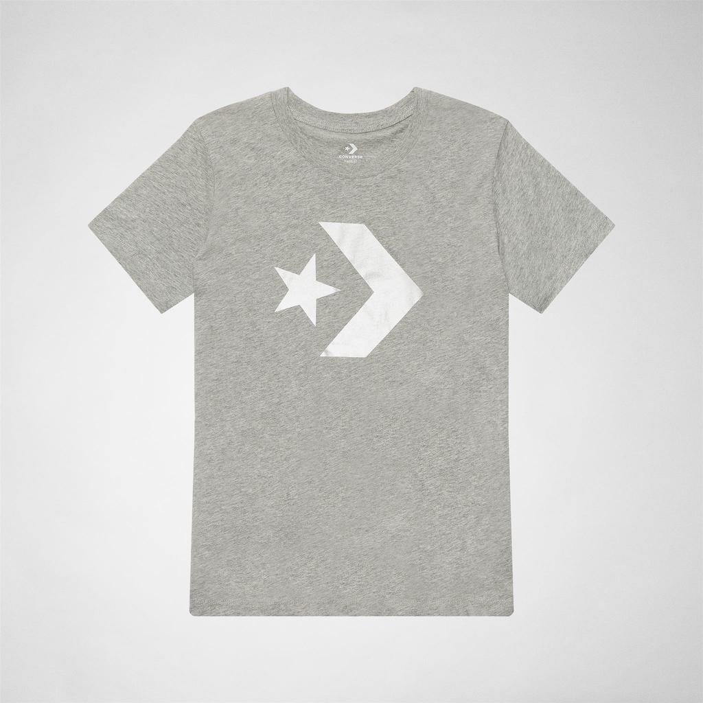 ef5521ad60ff Converse 10007046-a03 Star Chevron Tee Tops   T-shirts in Gray - Lyst