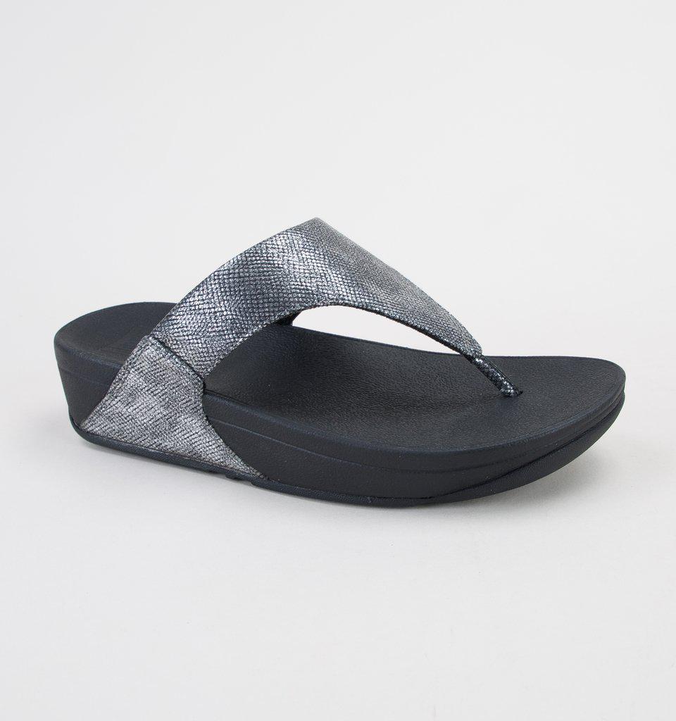 48e650aa50dd42 Fitflop Lulu Toe-thong Sandal Sandals in Black - Save ...