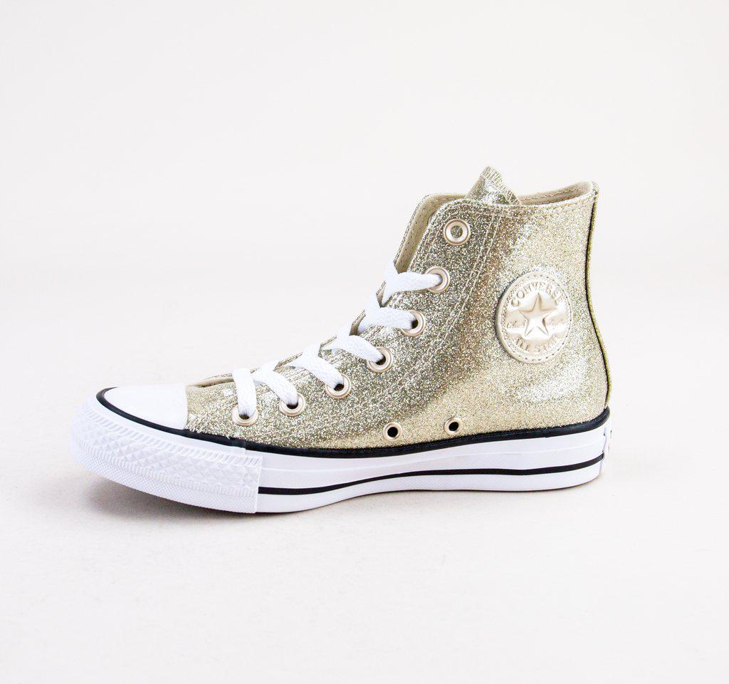 5bbeb67511bcae Converse - 562481c Ct As Hi Light Gold-light Gold-white Boots - Lyst. View  fullscreen