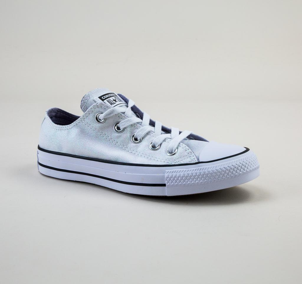 Converse 561712c Ct As Ox White-white-black Trainers in Blue - Lyst 1d4a5a643c69f