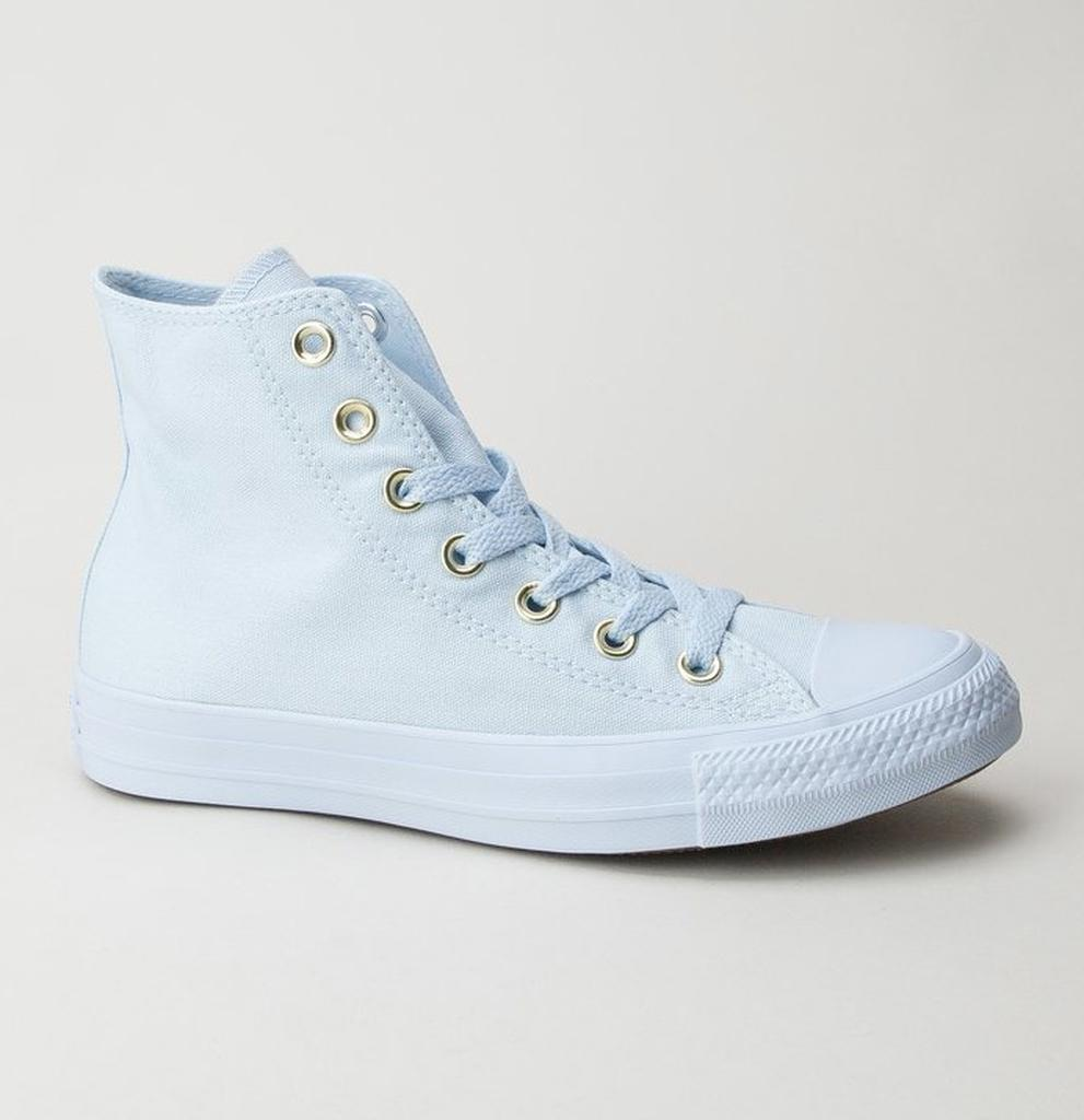 b48c1df58dd6 Converse 559939c Ct As Hi Blue Tint-blue Tint-gold Boots in Blue - Lyst