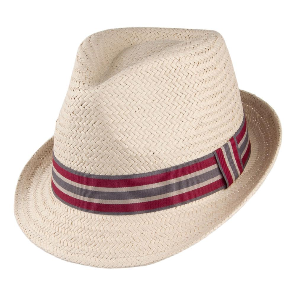642d0641 Barbour Natural Paper And Polyester Whitby Trilby Hat for Men - Lyst