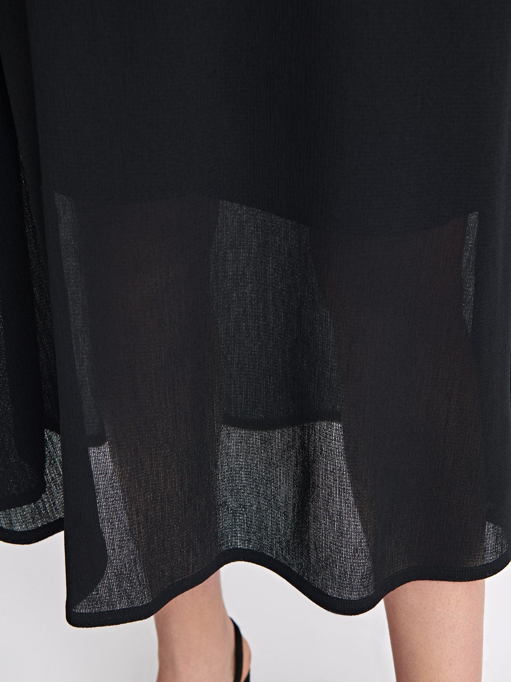 fe7b1415f7 Filippa K Mesh Skirt in Black - Lyst