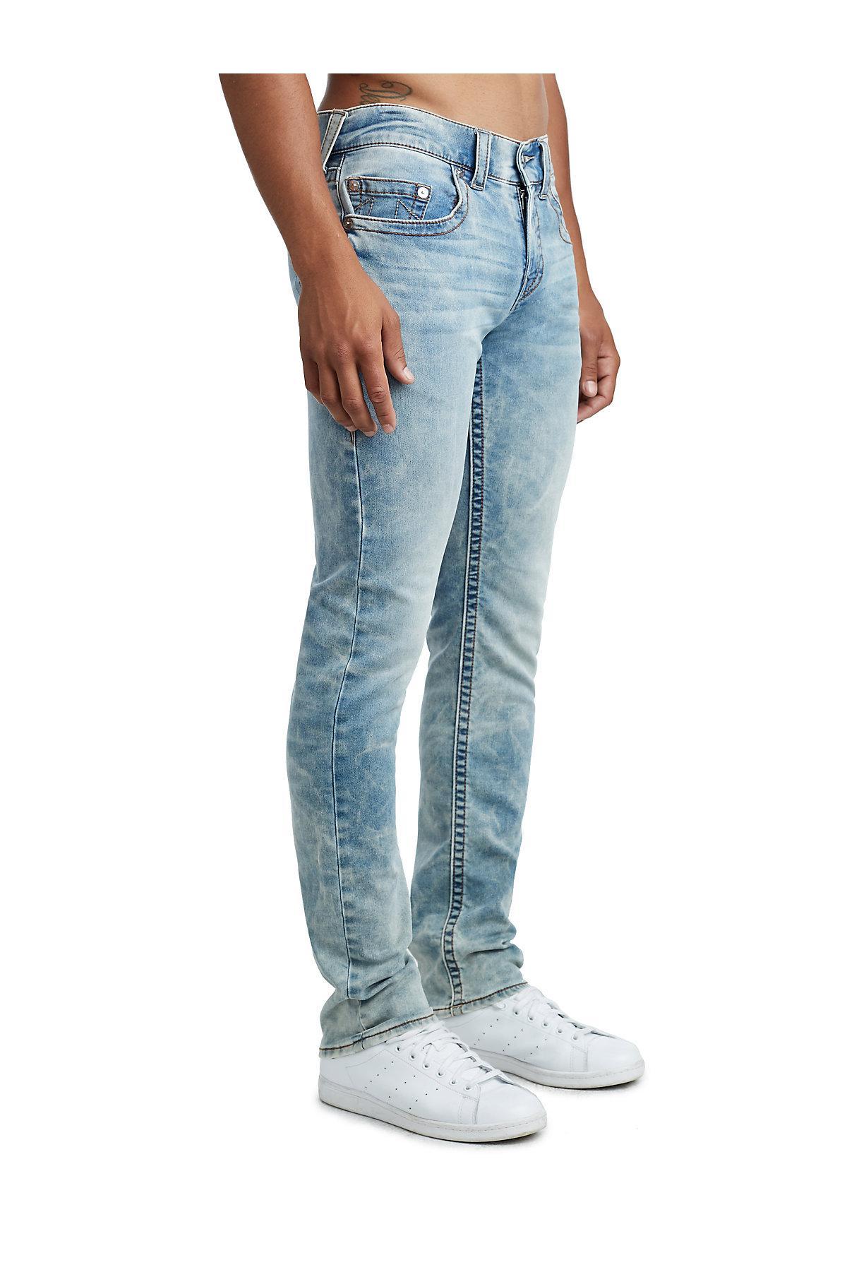 e3ff4f1fb Lyst - True Religion Slim Jean in Blue for Men