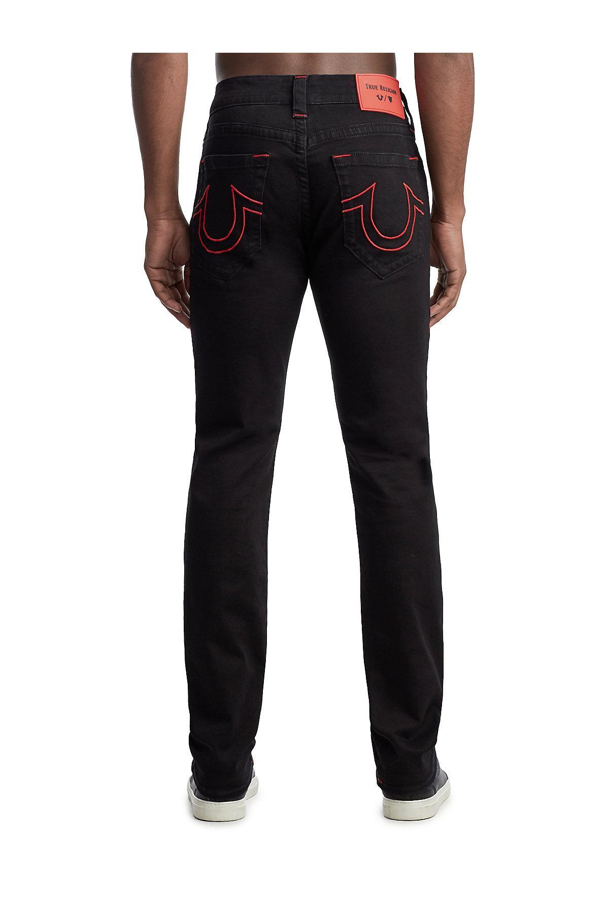 9adb97467 True Religion - Black Tr X Manchester United Rocco Skinny Jean for Men -  Lyst. View fullscreen