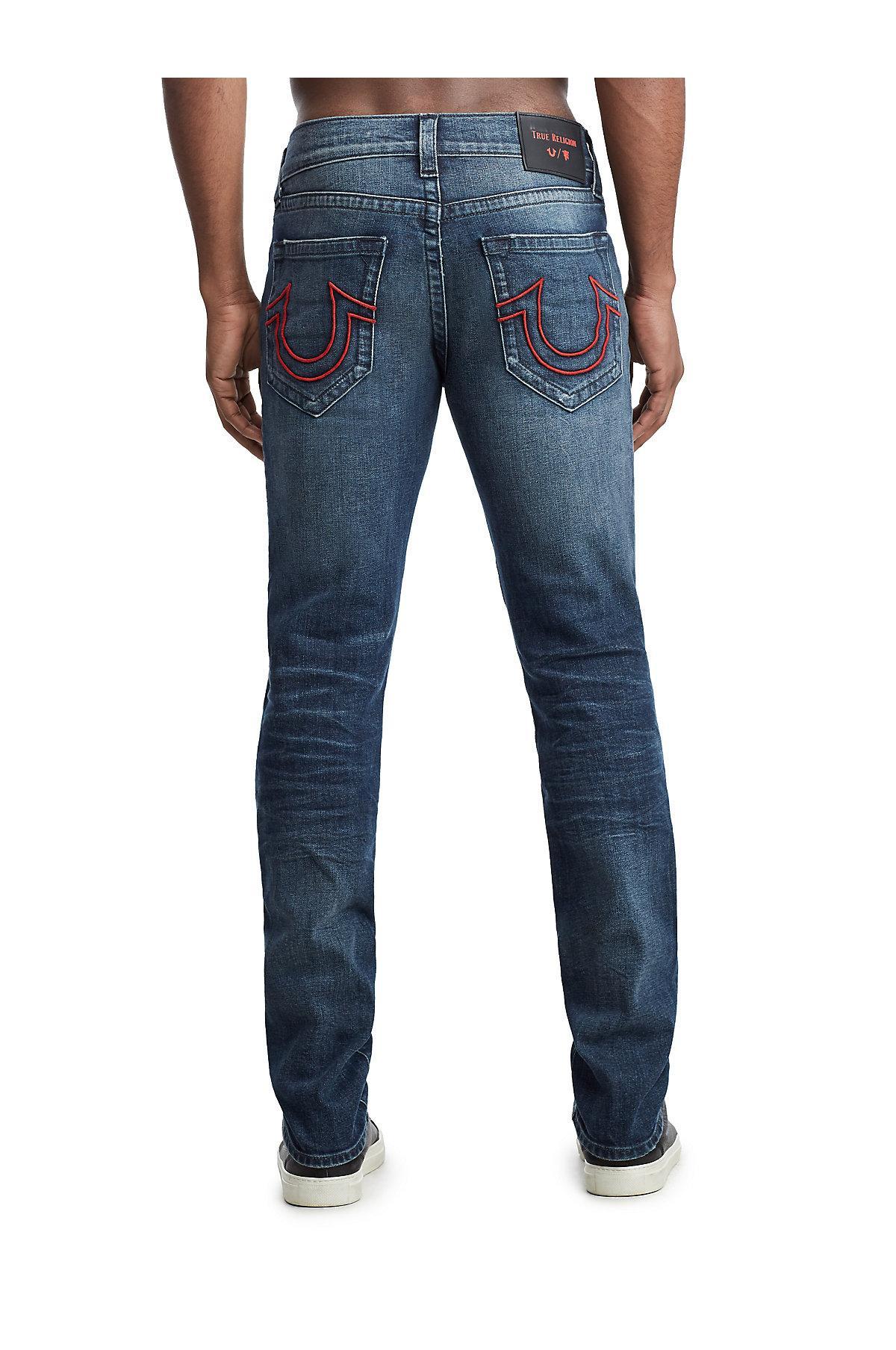 2c0ed94e1 True Religion - Blue Tr X Manchester United Rocco Skinny Jean for Men -  Lyst. View fullscreen