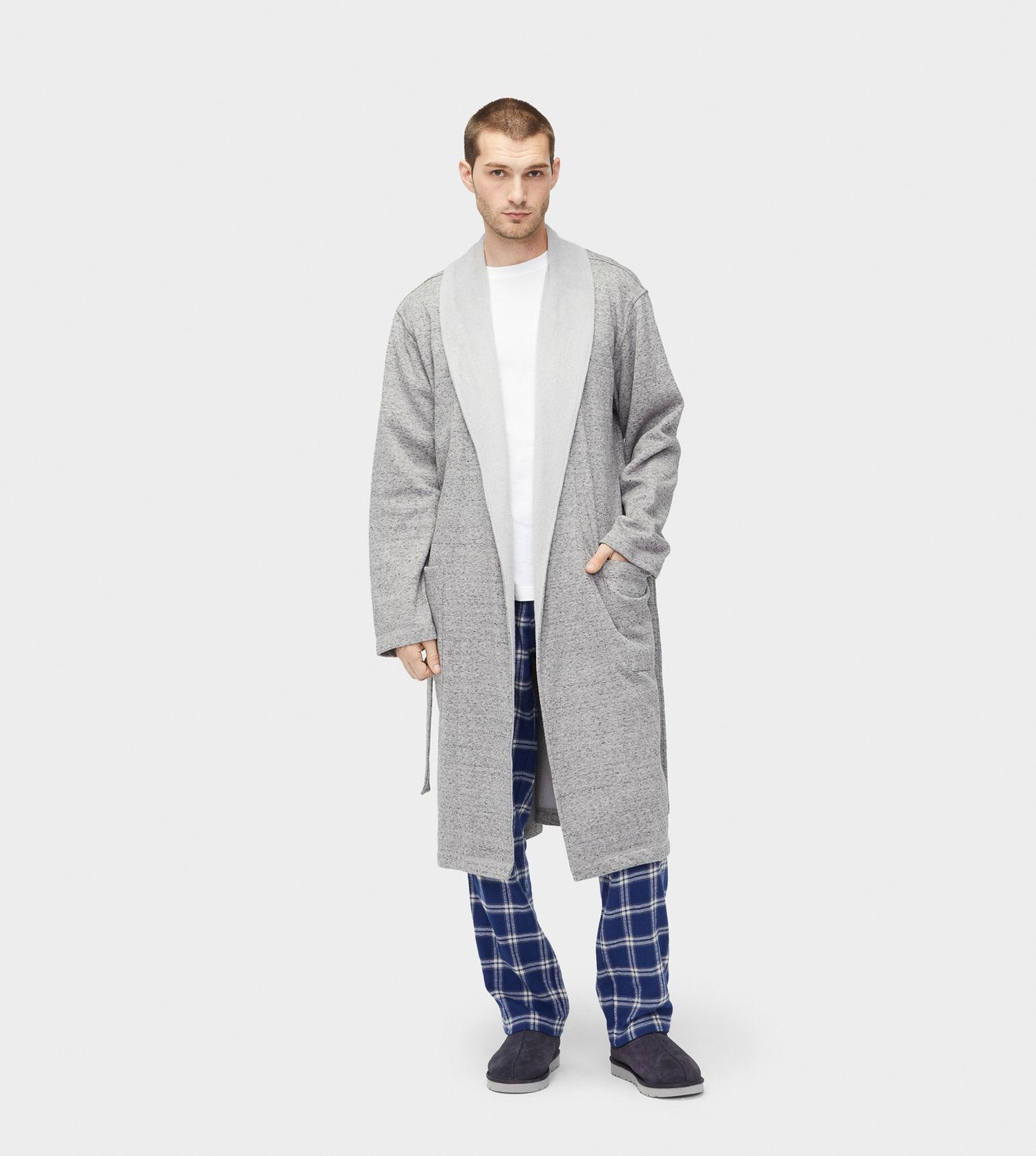 Lyst - Ugg Men s Share This Product Robinson Robe in Gray for Men 37a73575e
