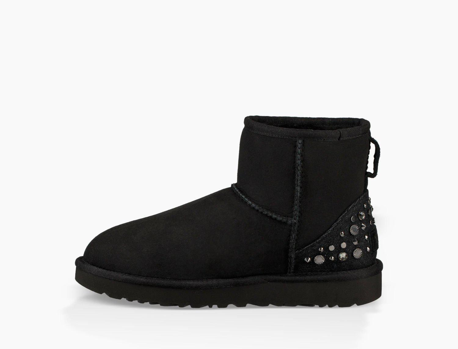 UGG MINI STUDDED BLING - Classic ankle boots - black jzjeWDyk