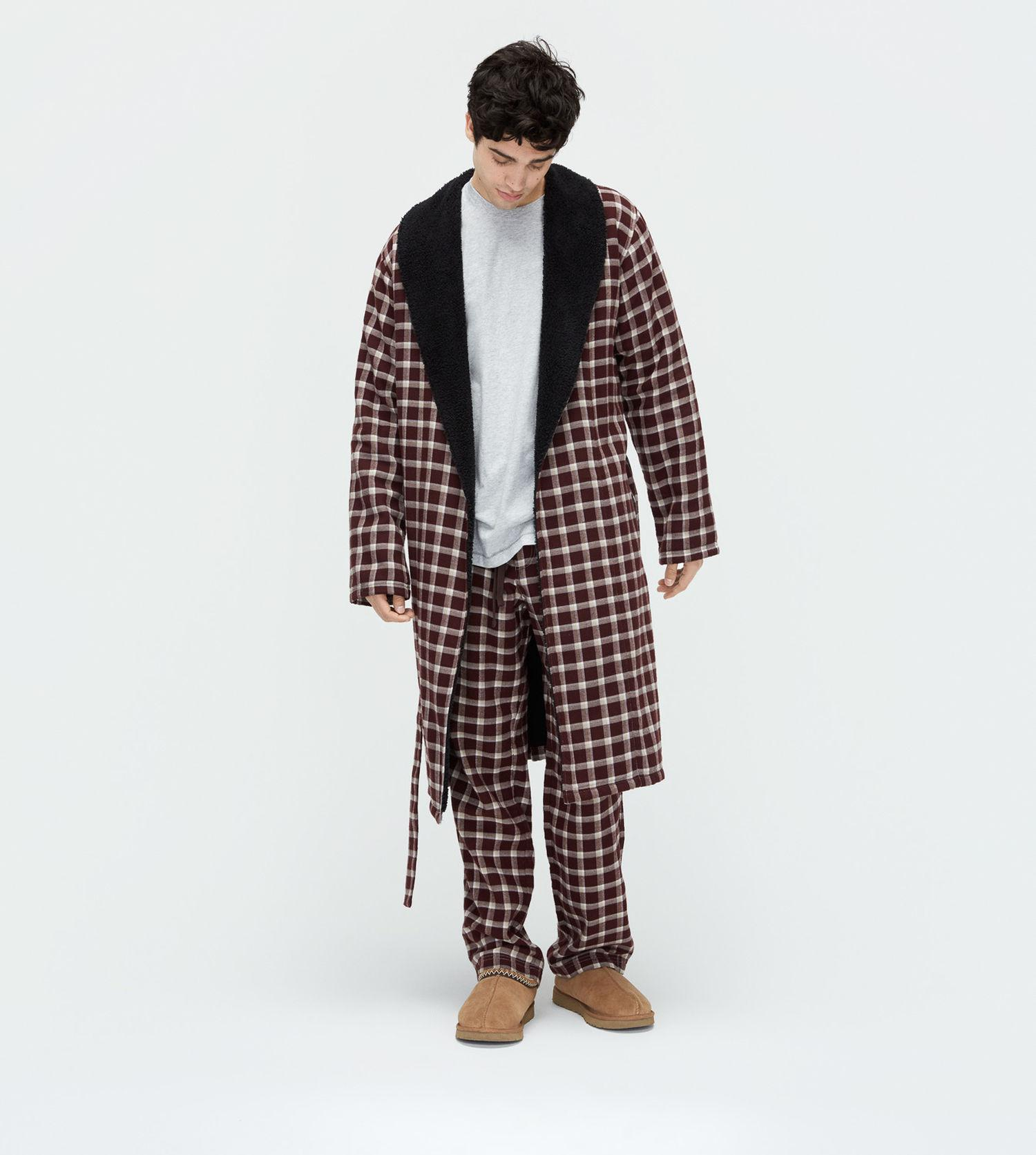 bde08f18df Lyst - Ugg Men s Kalib Plaid Robe for Men