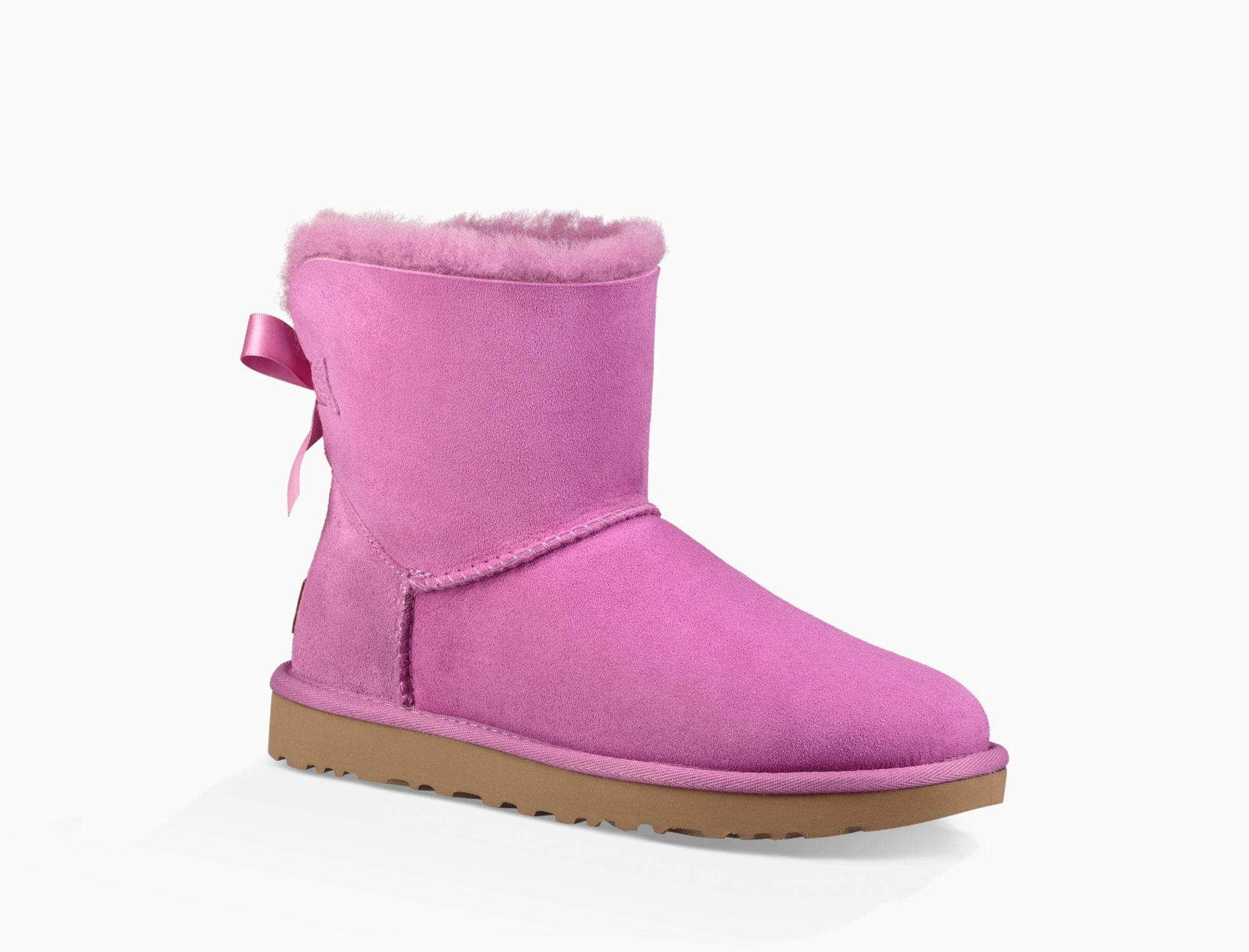 d0a3aa15aa5 Ugg Purple Women's Mini Bailey Bow Ii Boot