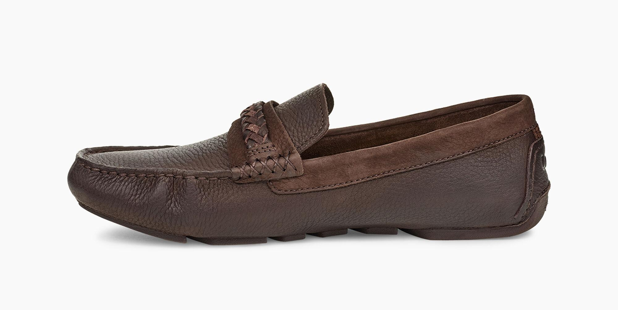 ce31811e896 UGG Henrick Leather Braid Henrick Leather Braid in Brown for Men - Lyst