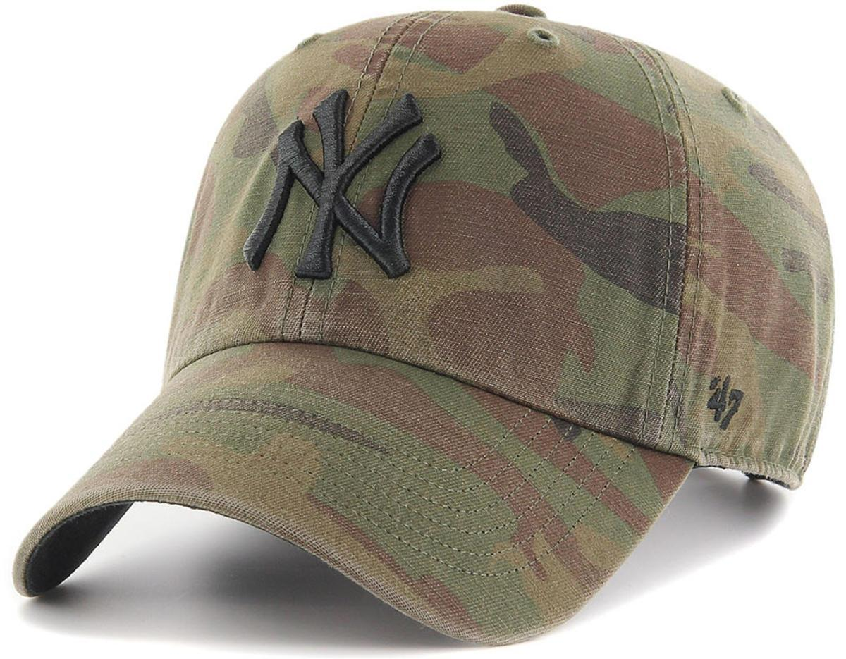 957b6181c15 ... on wholesale 2e9bc 6b619 47 Brand. Mens Green Mlb New York Yankees 47  Clean Up ...