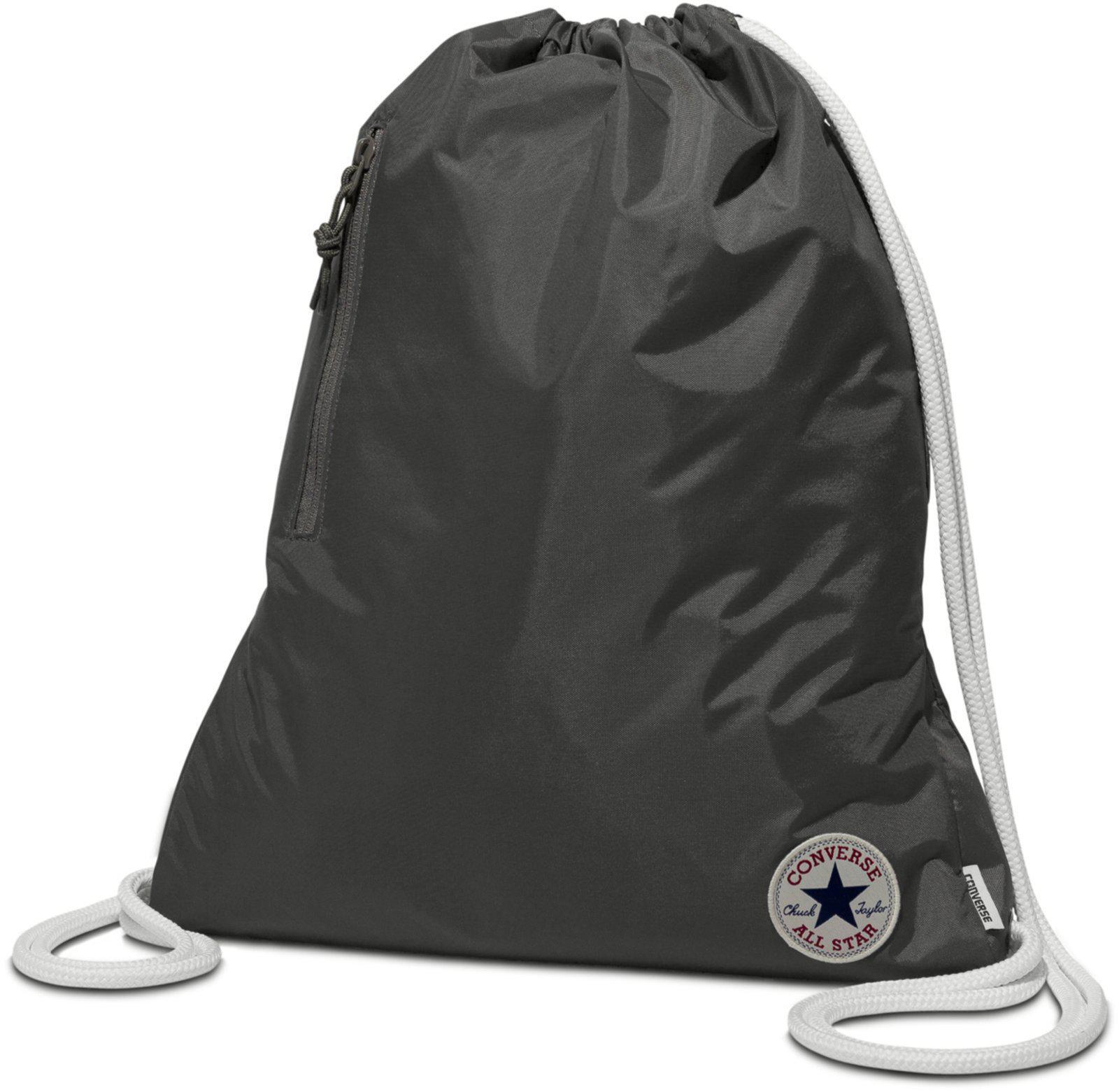 fe8d5d4f49 Converse All Star Ss17 Drawstring Gym Bag in Gray - Lyst