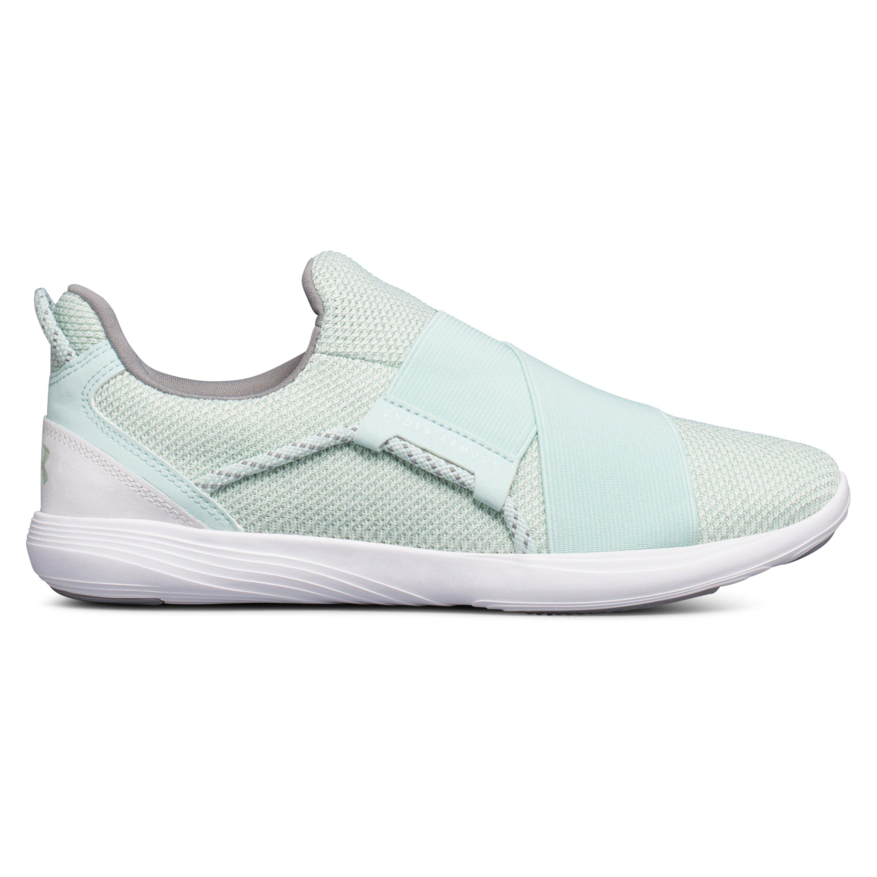3433a376c2a Under Armour Women s Ua Precision X Training Shoes in White - Lyst