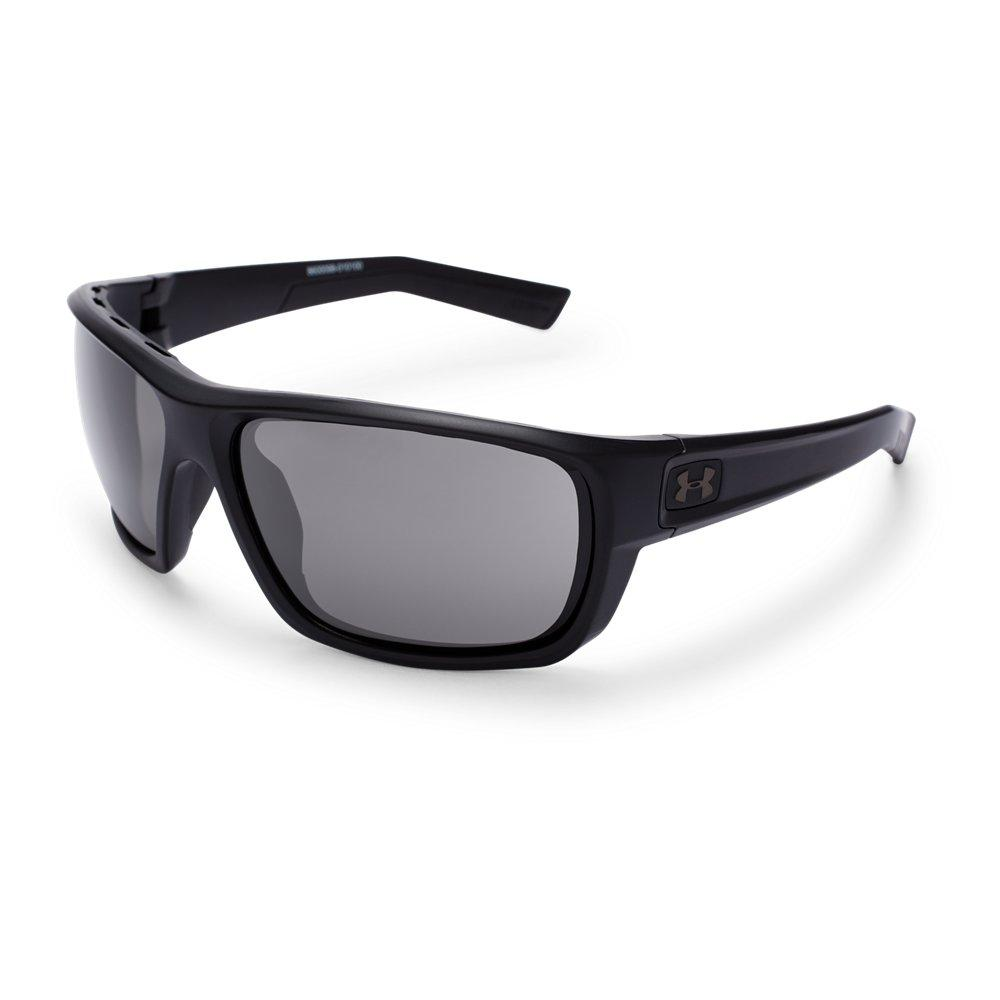 1bd49dc7d70 NEW Under Armour Polarized Battlewrap Sunglasses Satin Black Frame Gray  Lens Source · Lyst Under Armour Launch in Black for Men Save 24  719101123595507