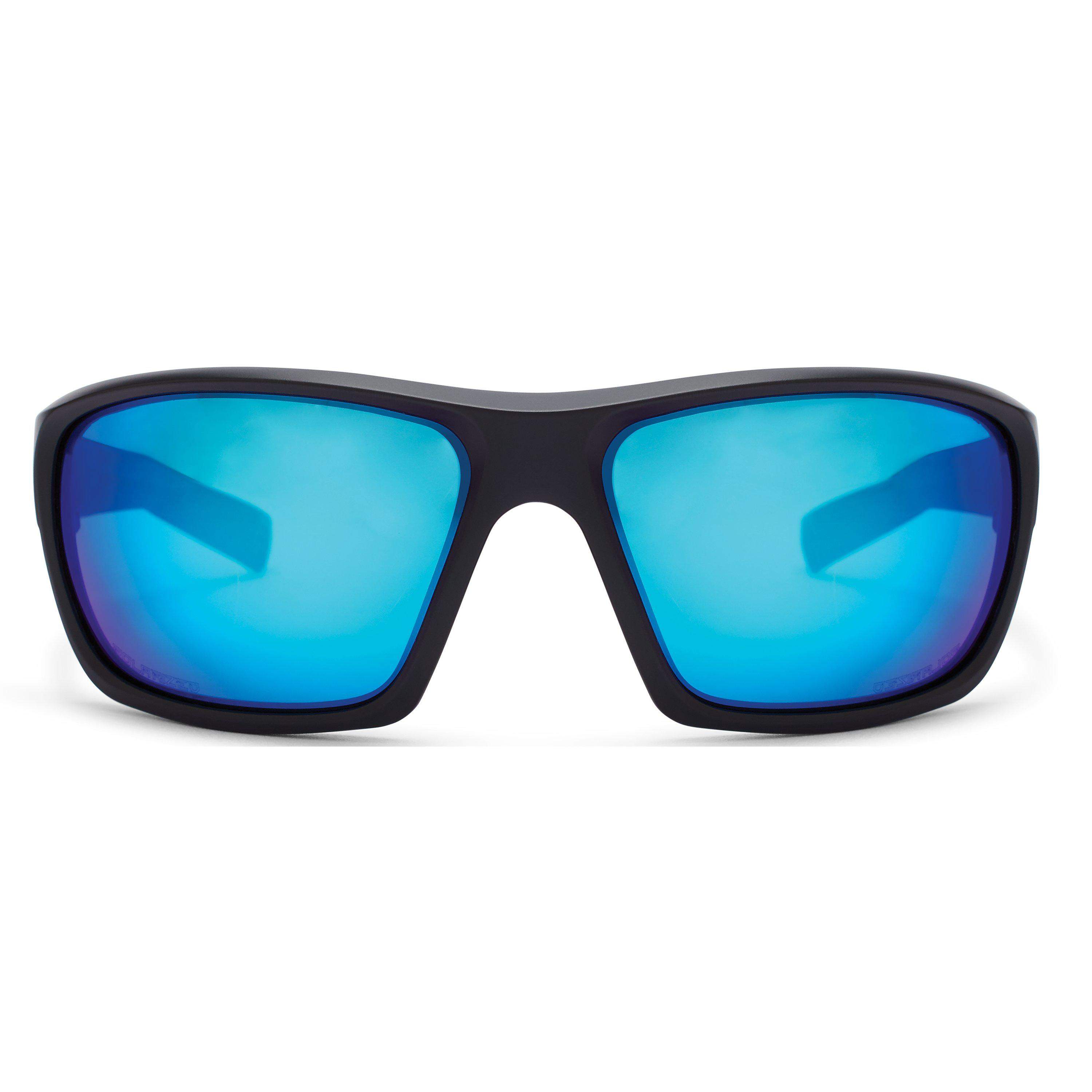 a58a016bf05 Under Armour - Blue Ua Launch Storm Polarized Sunglasses for Men - Lyst.  View fullscreen