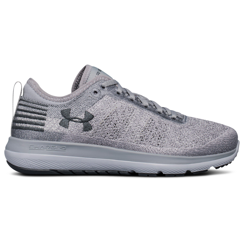 Under Armour BREATHE TRAINER - Sports shoes - black/metallic steel 971fPJkNFm