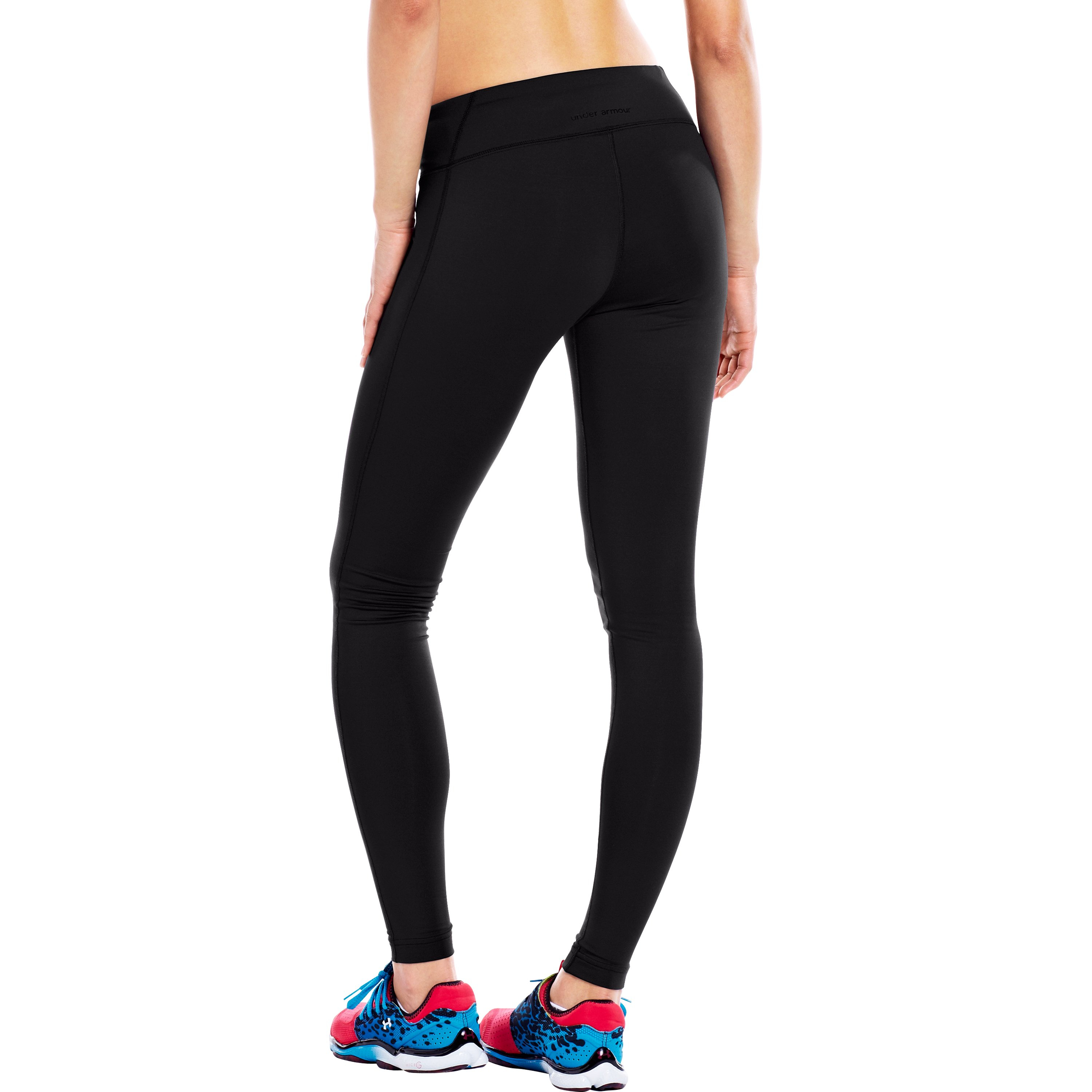 611574bae42cb0 Lyst - Under Armour Women's Ua Authentic Coldgear® Fitted Tight in Black