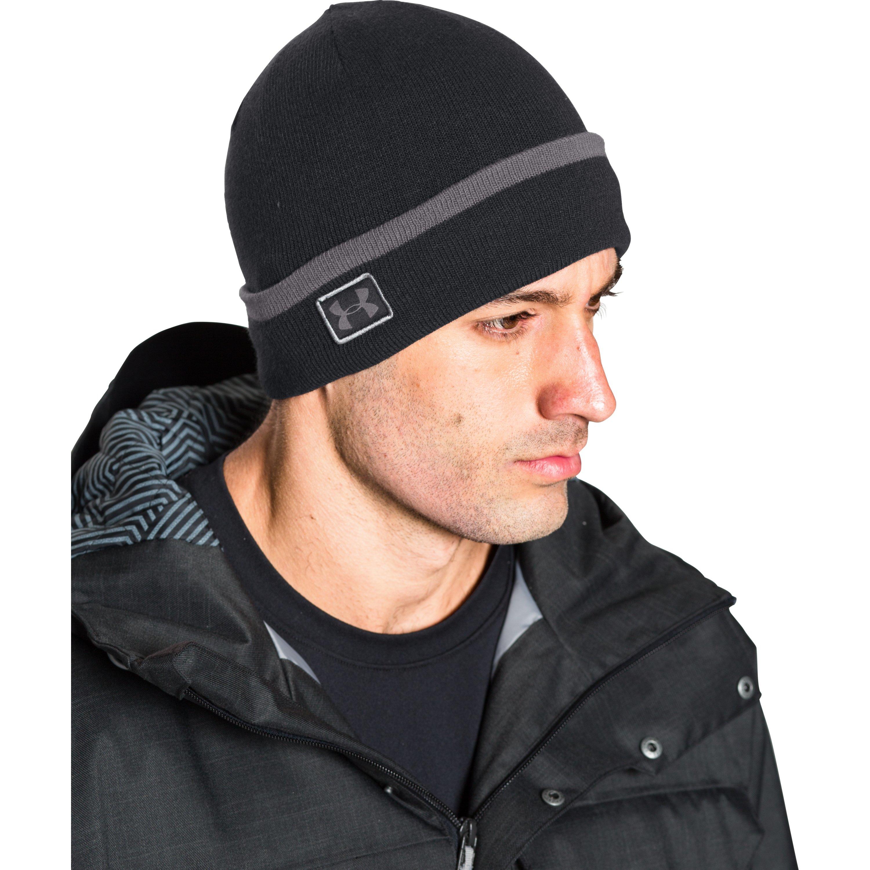 de9ec103eab Lyst - Under Armour Men s Ua Coldgear® Infrared Cuff Sideline Beanie ...