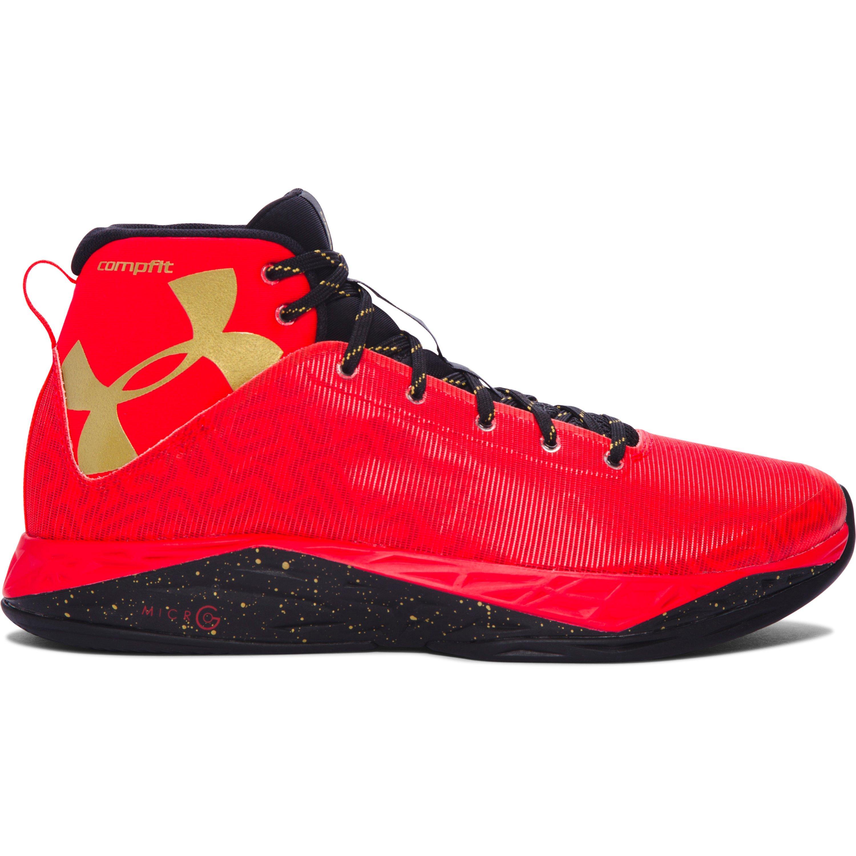 b59e08d4309b Lyst - Under Armour Men s Ua Fireshot Basketball Shoes in Red for Men