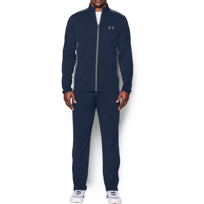 Under Armour Men S Ua Maverick Warm Up Suit In Blue For