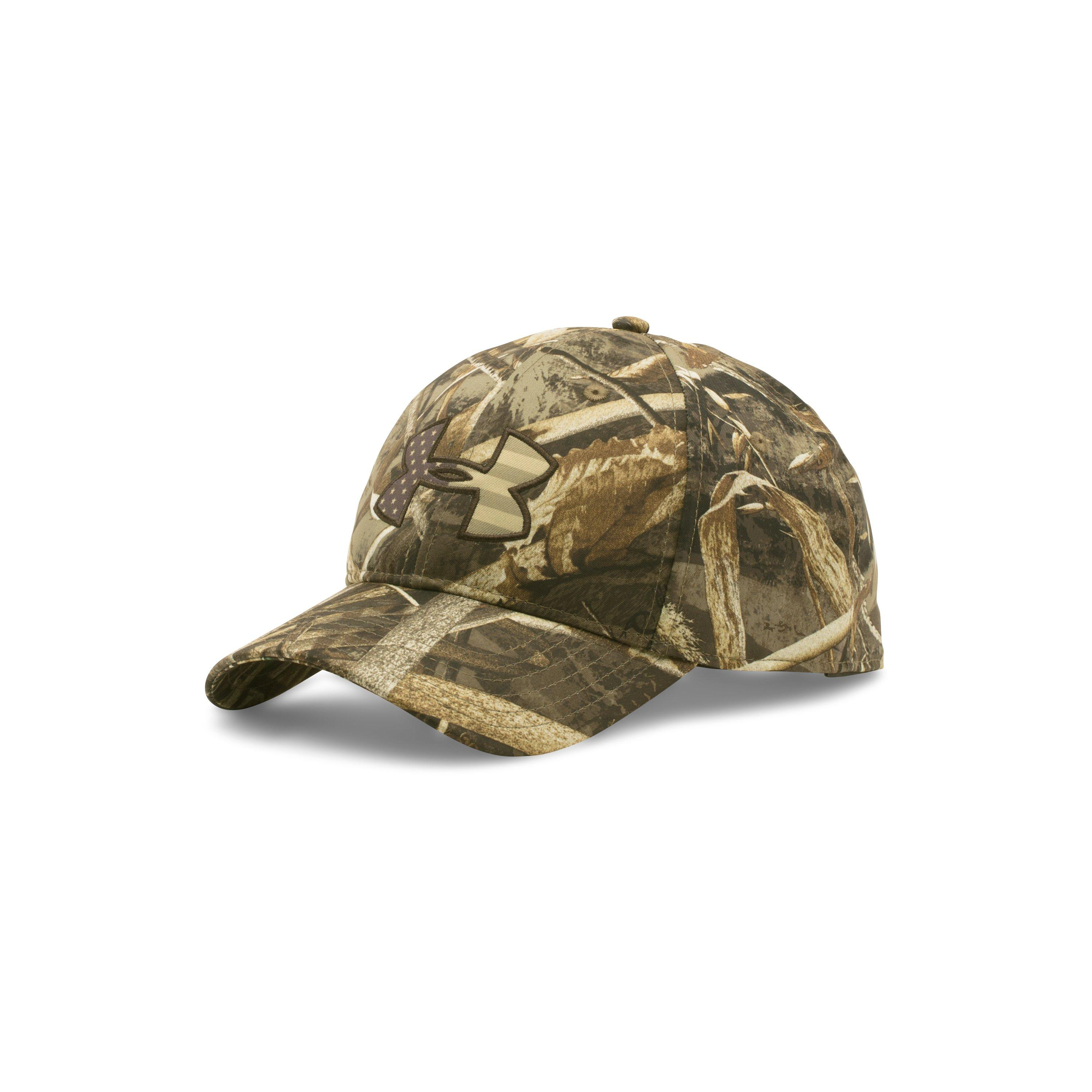 e5e643f3cbe Lyst - Under Armour Men s Ua Camo Big Logo 2.0 Cap in Green for Men