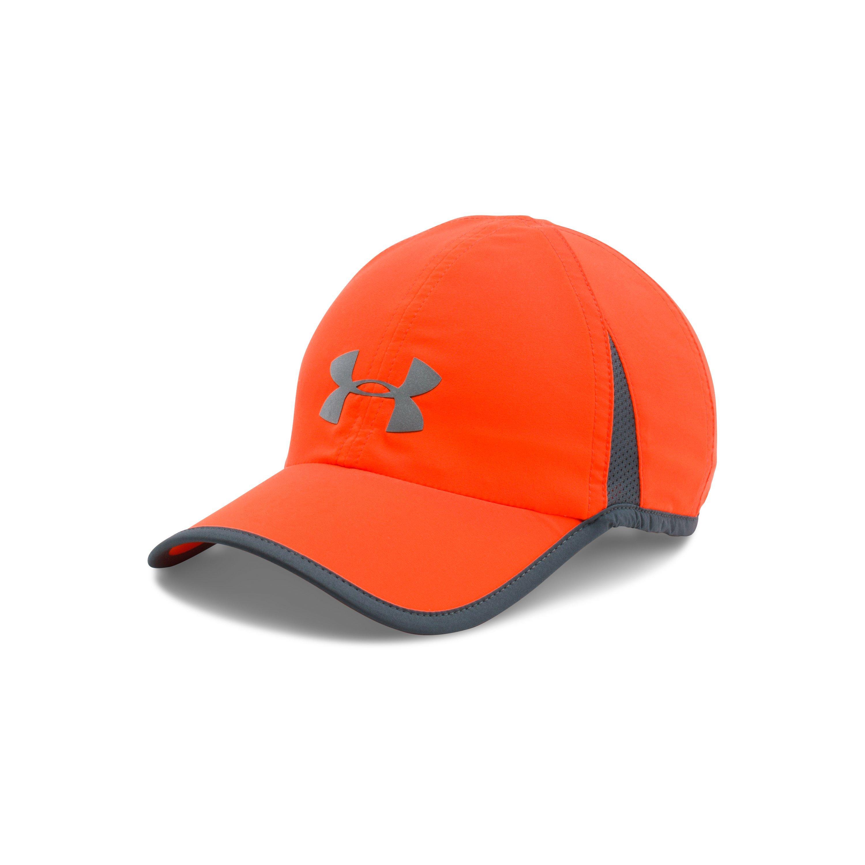 454456149a5 Lyst - Under Armour Men s Ua Shadow 4.0 Run Cap in Orange for Men