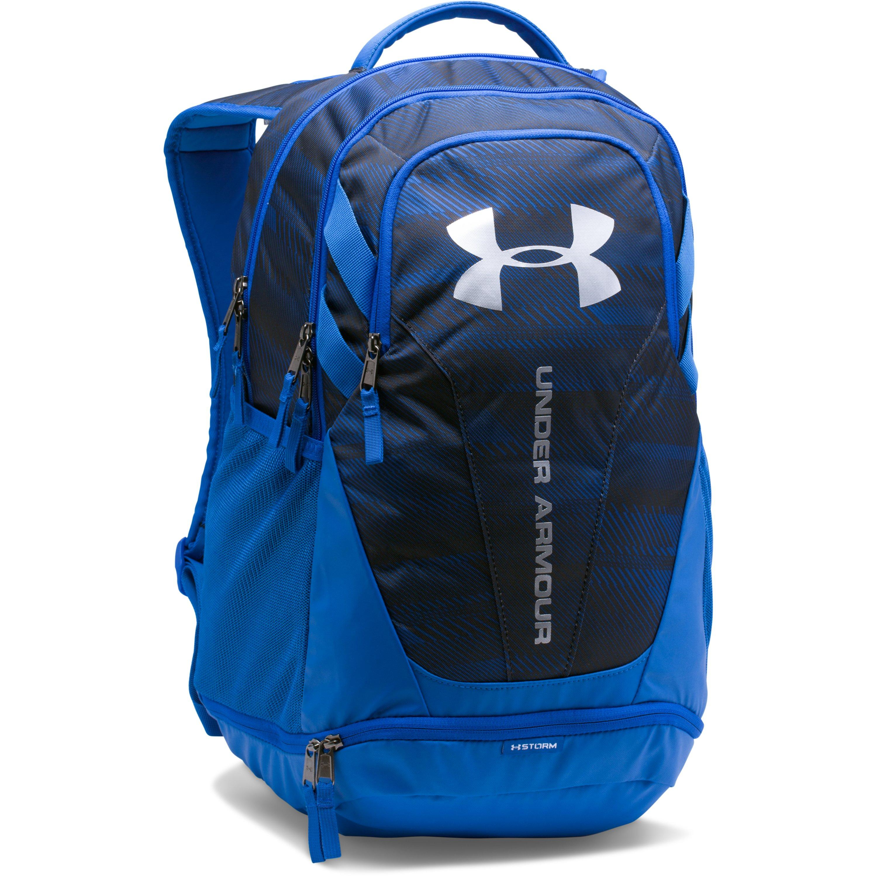 Under Armour Ua Hustle 3 0 Backpack In Blue For Men Lyst