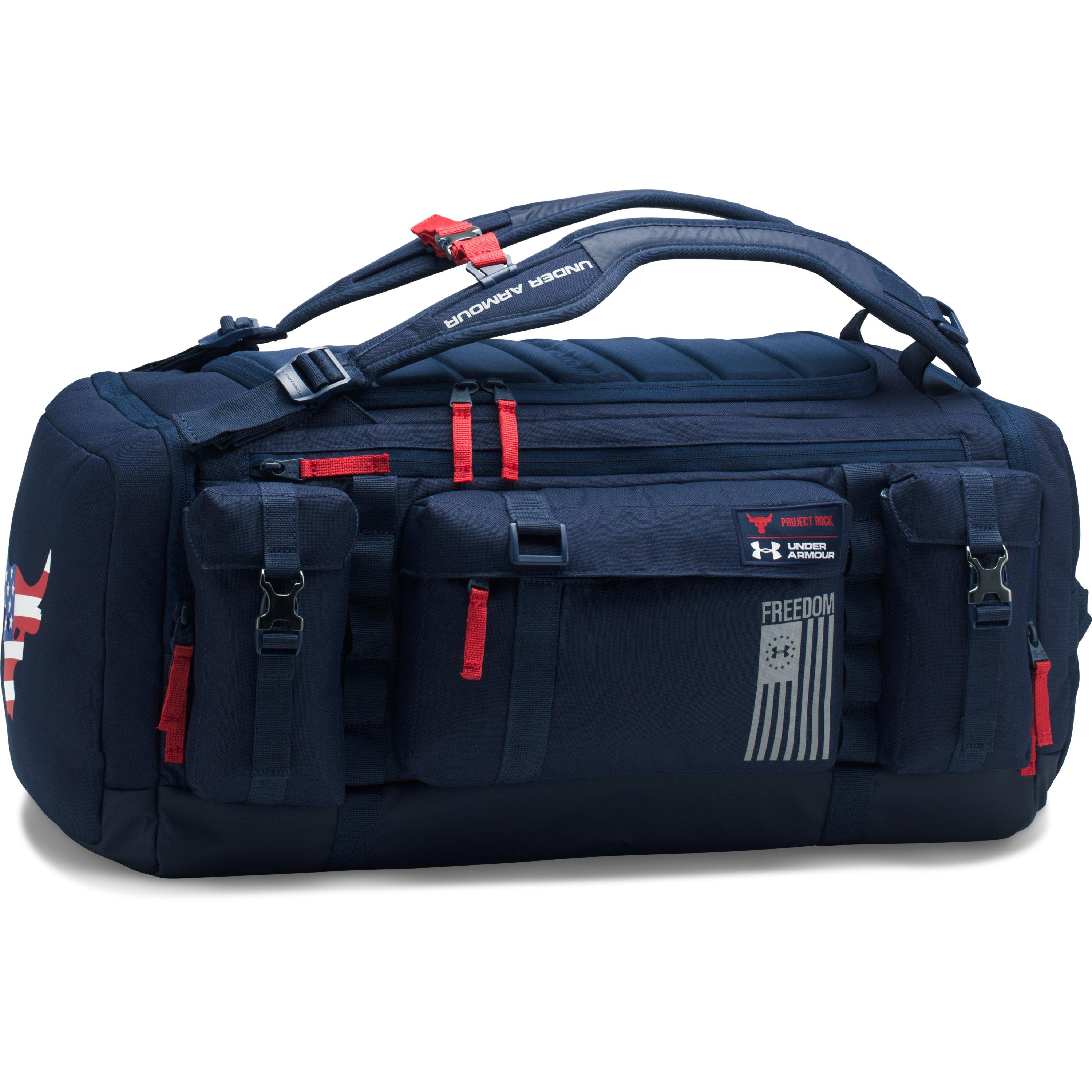 6ff068671 Under Armour Ua X Project Rock Freedom Range Duffle in Blue for Men ...
