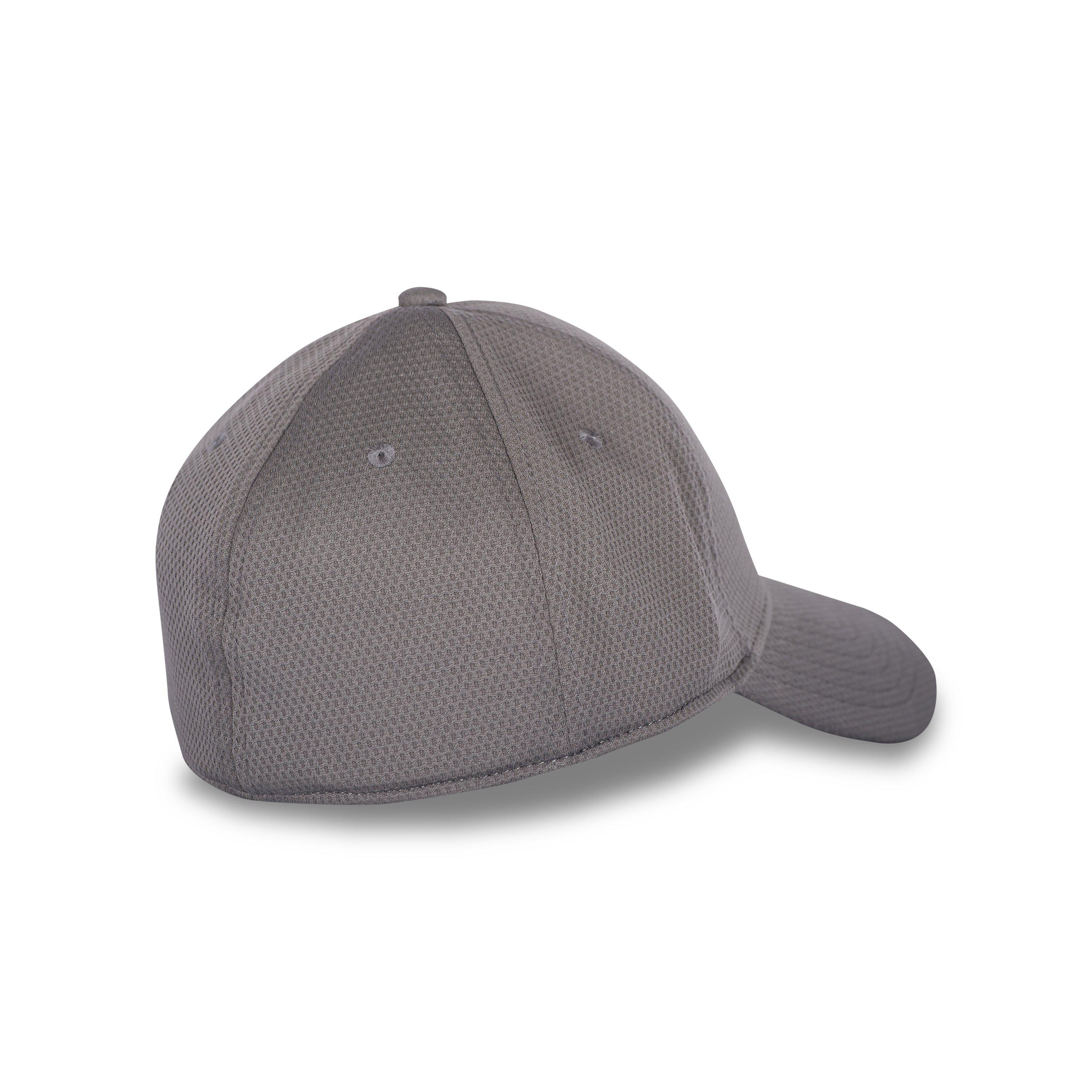 Lyst - Under Armour Men s Ua Curved Brim Stretch Fit Cap in Gray for Men d5a9827eac6