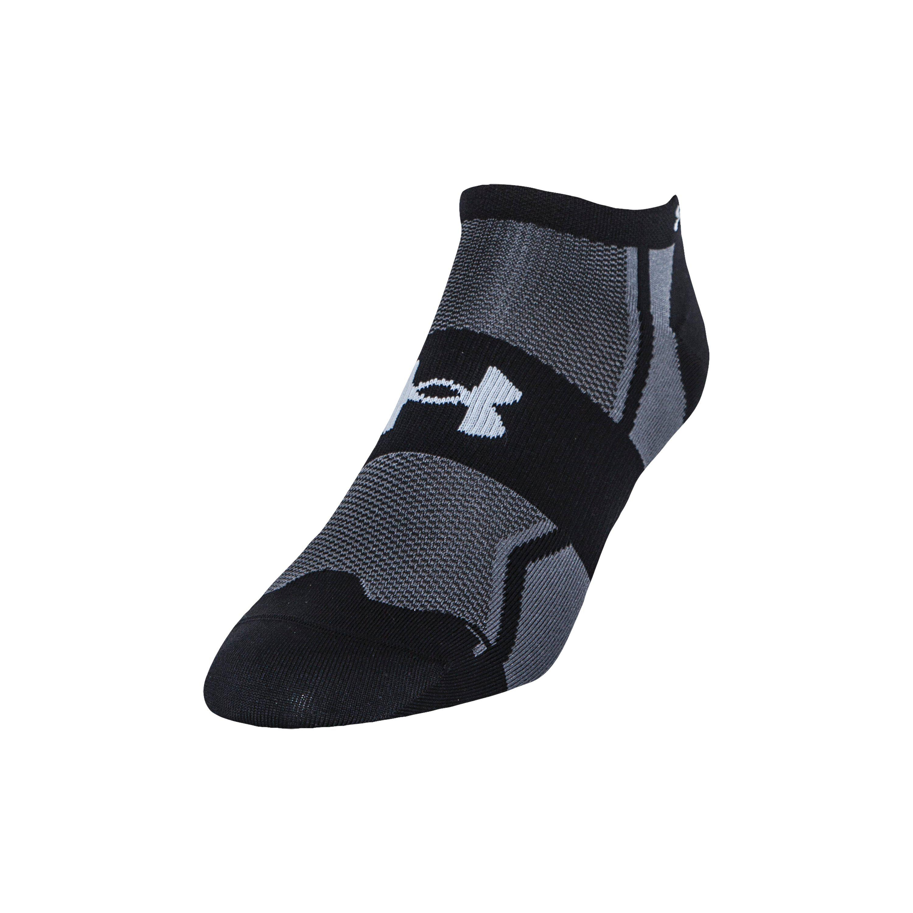 8e12c41a774 Under Armour Men's Ua Speedform® No-show Socks - 3 For $30 in Black ...