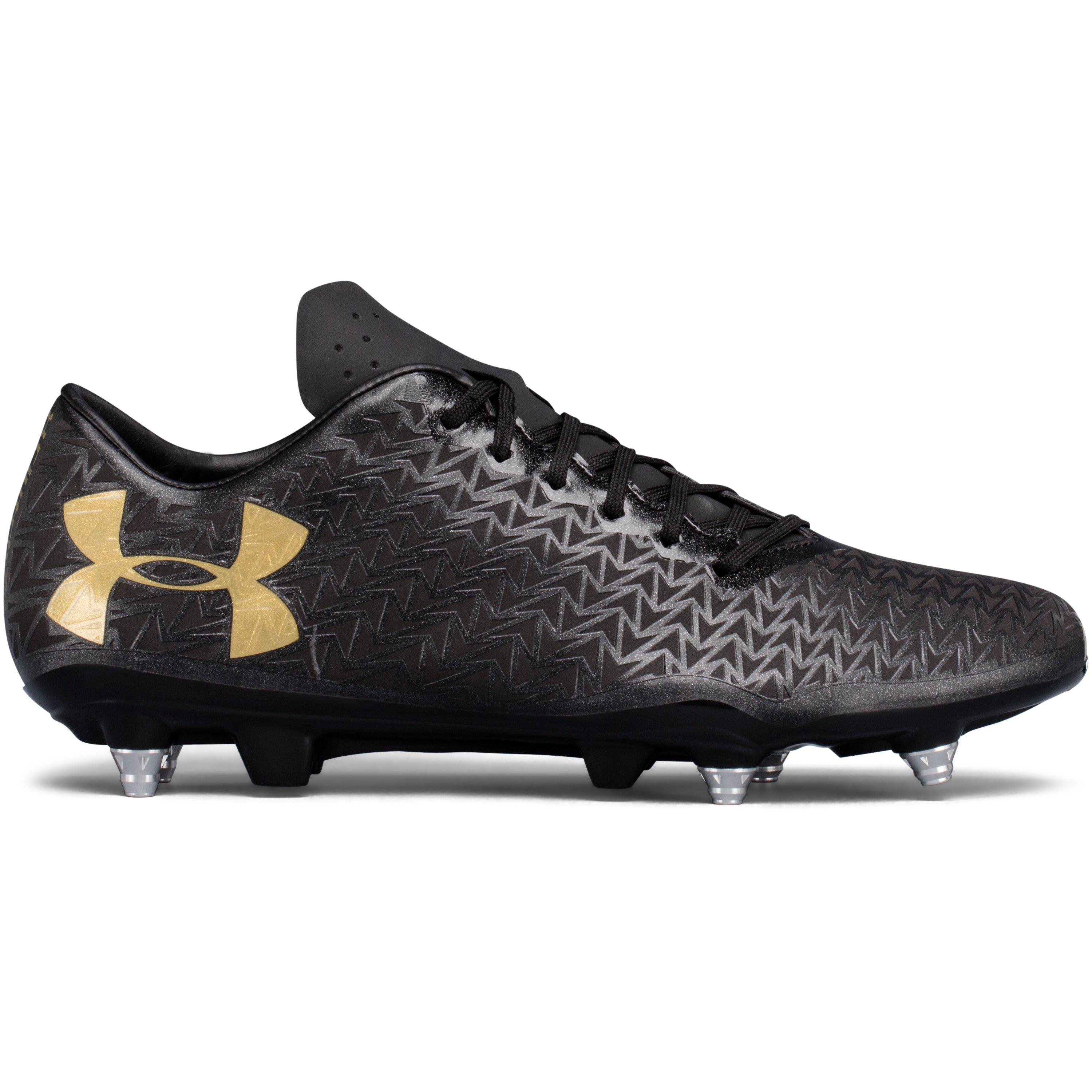 Under Armour. Black Men's Ua Corespeed Hybrid Rugby Cleats