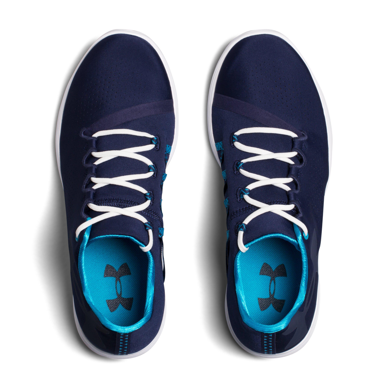 Lyst - Under Armour Women s Ua Street Precision Low Shoes in Blue 3cf0184ec1