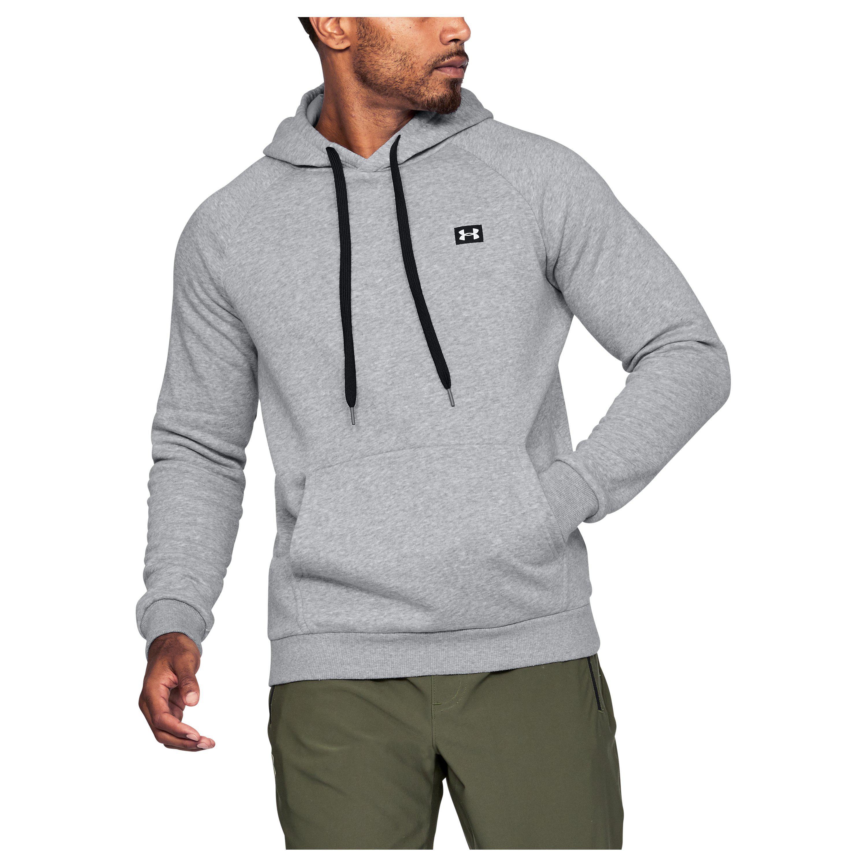 7a0c1935cf878 Under Armour Men's Ua Rival Fleece Hoodie in Gray for Men - Lyst