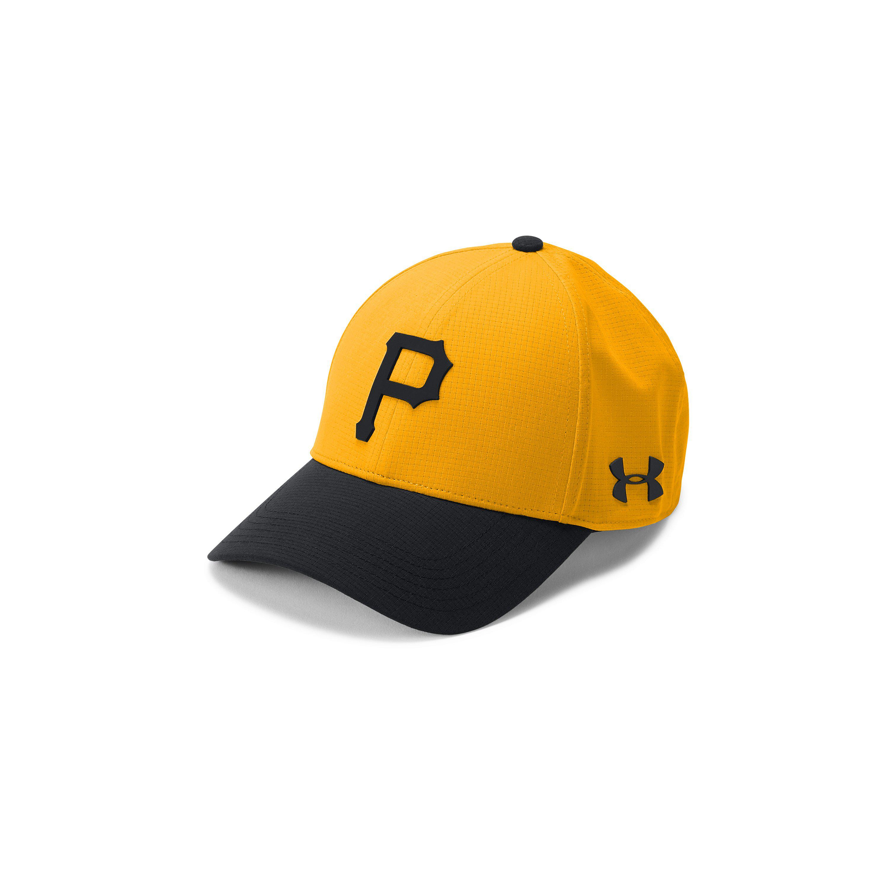 c70a5959144 ... cheap lyst under armour mens mlb driver cap in yellow for men d3ce8  ee7d2