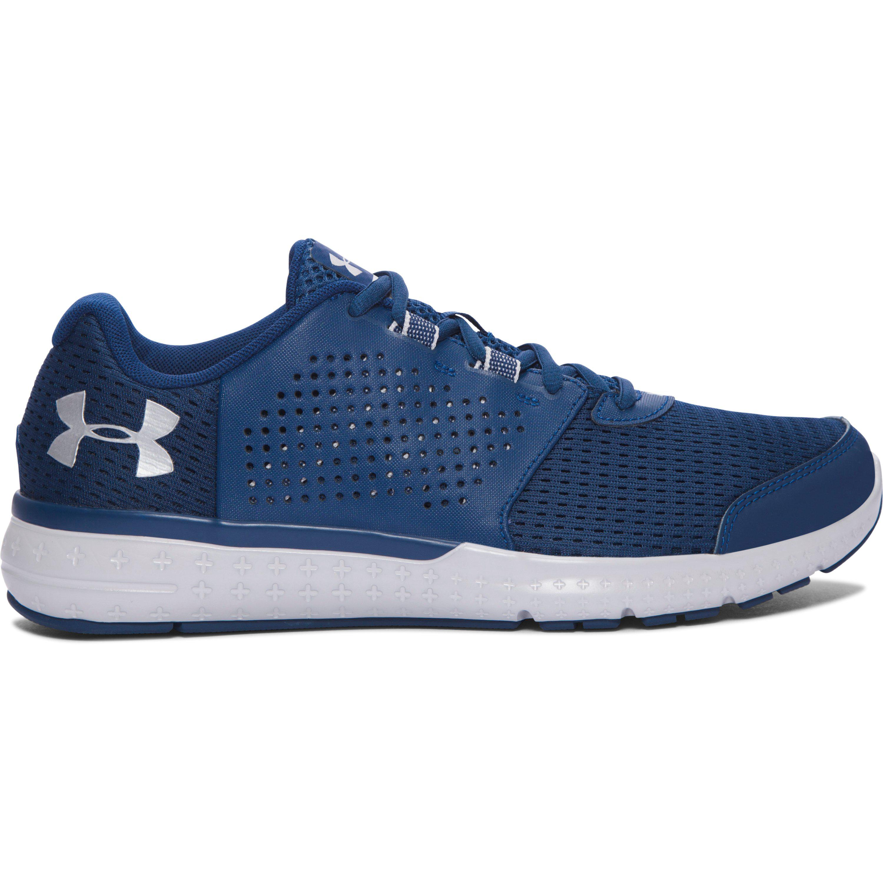 Under Armour. Blue Men's Ua Micro G® Fuel Running Shoes