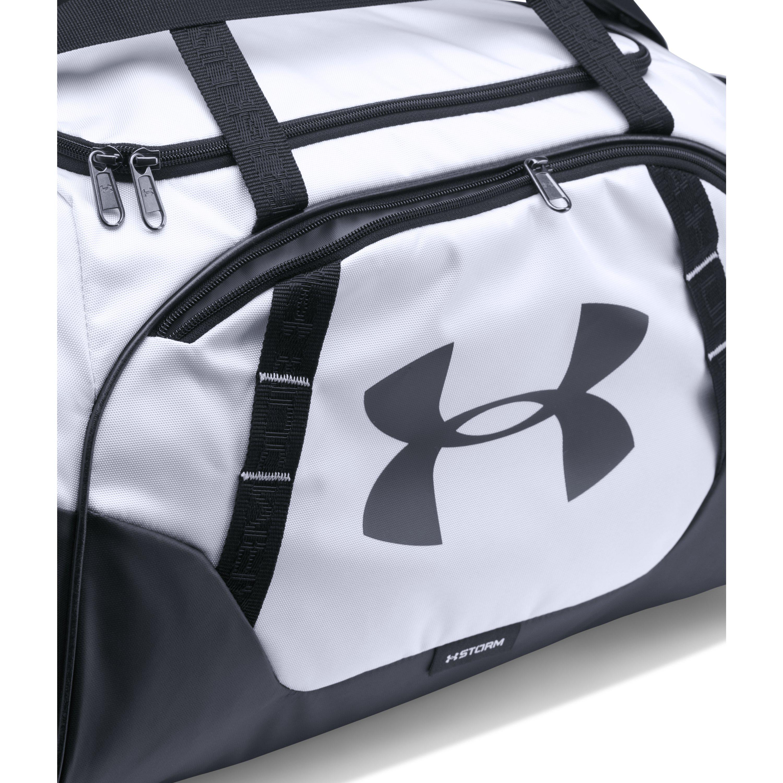 da4cc41e1f1 Under Armour - Black Men s Ua Undeniable 3.0 Small Duffle Bag for Men - Lyst