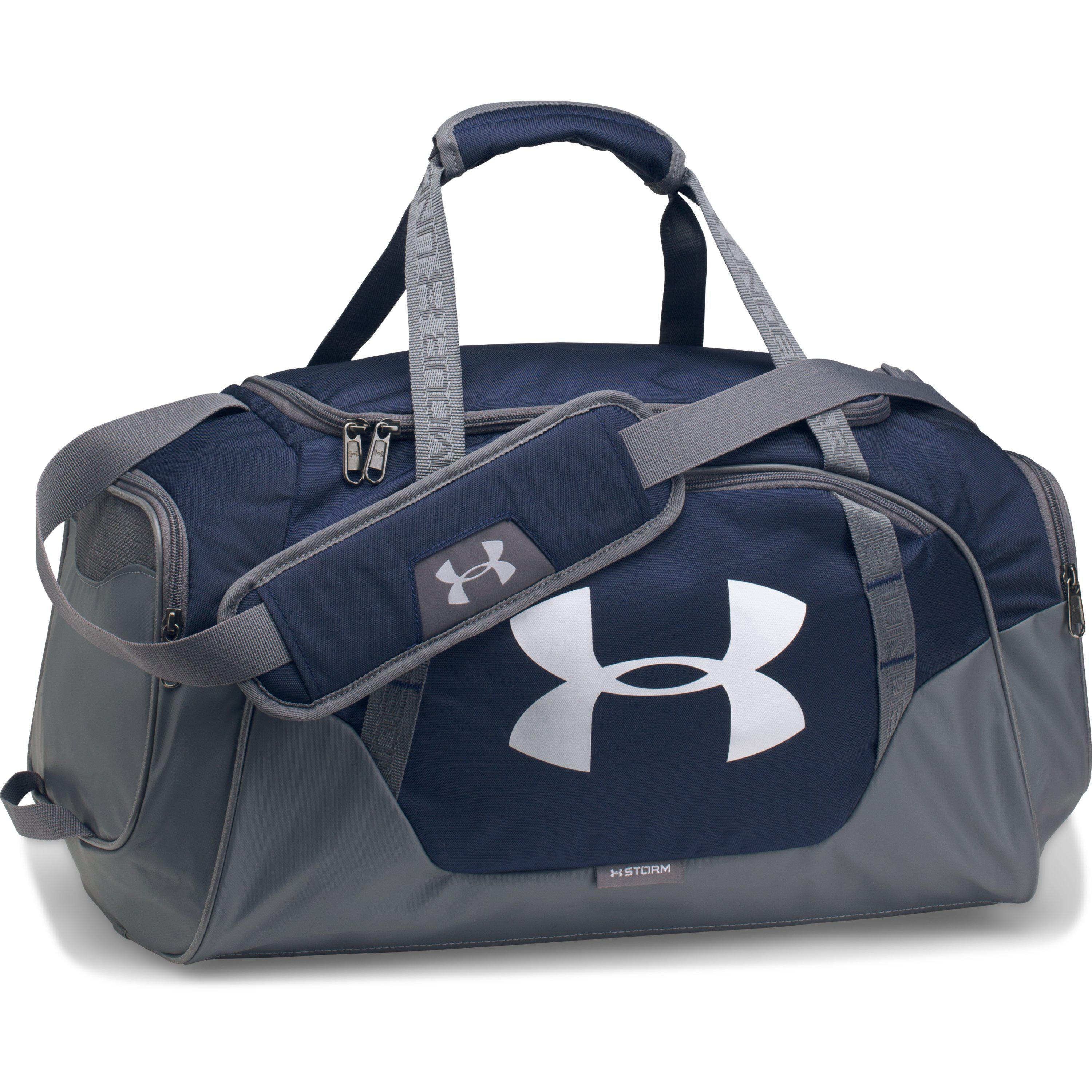 Lyst - Under Armour Men s Ua Undeniable 3.0 Small Duffle Bag in Blue ... 29091a292a856