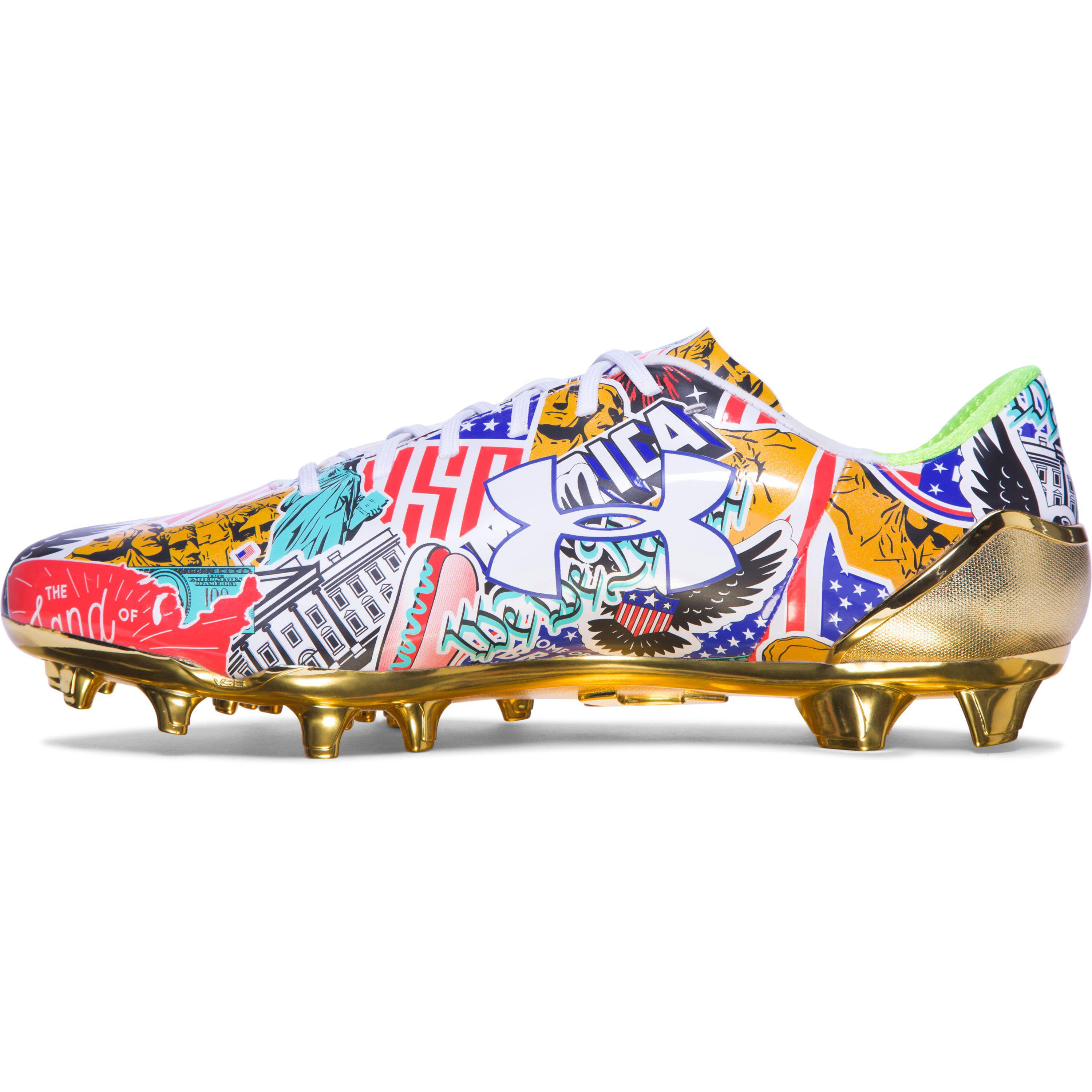 f85778698 Under Armour Ua Spotlight Limited Edition Football Cleats Sneakers ...