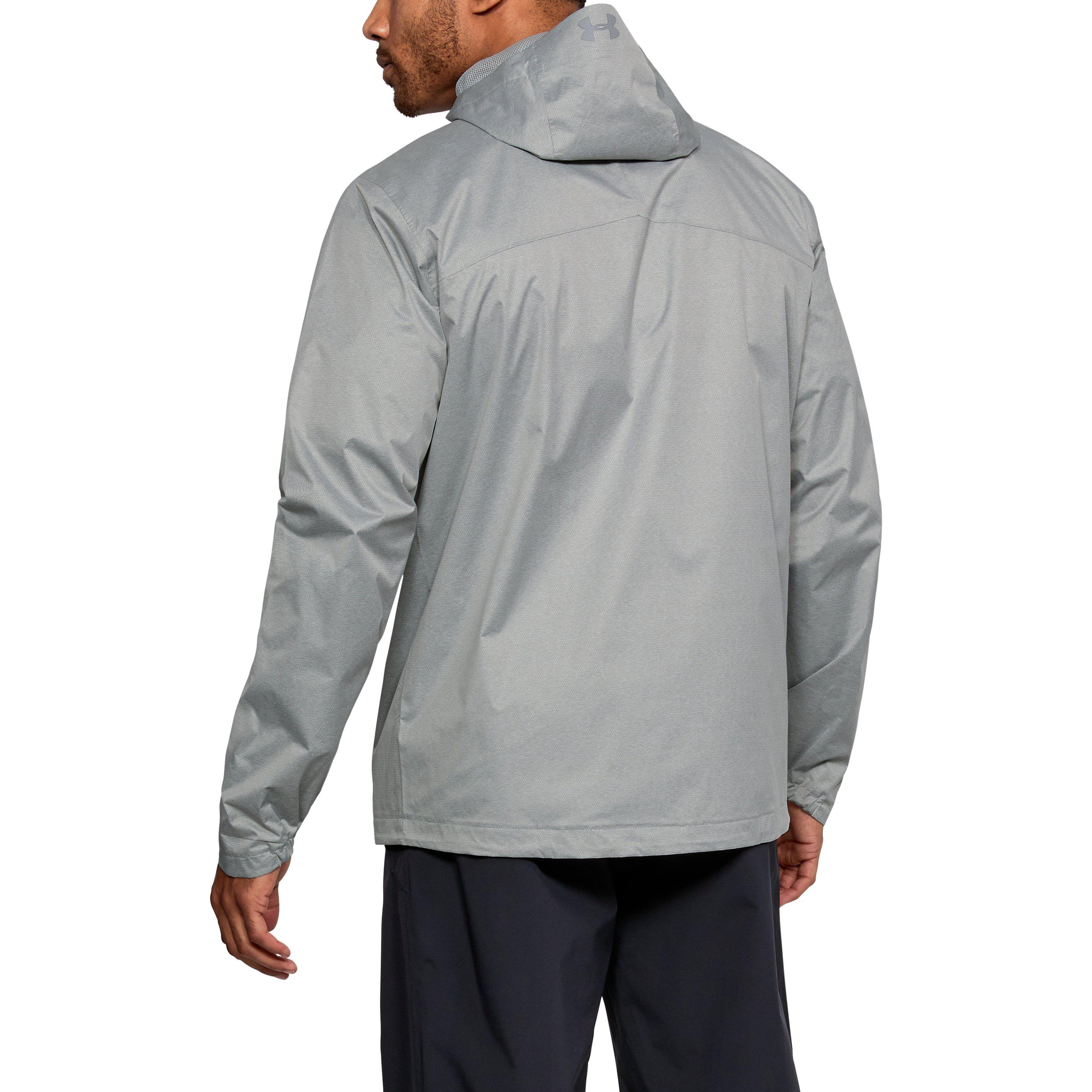 cabceba9dc6a Under Armour - Gray Men s Ua Overlook Jacket for Men - Lyst. View fullscreen